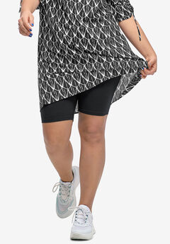 48b477427b395 Plus Size Shorts   Capris for Women
