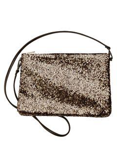 Gold Sequin Handbag by ellos®,
