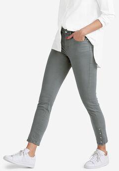 Snap-Hem Pants by ellos®,