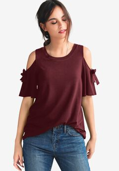 Cold-Shoulder Top,