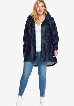 Hooded Anorak Raincoat by ellos®,