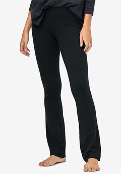 Stretch Bootcut Sleep Pants by ellos®, BLACK