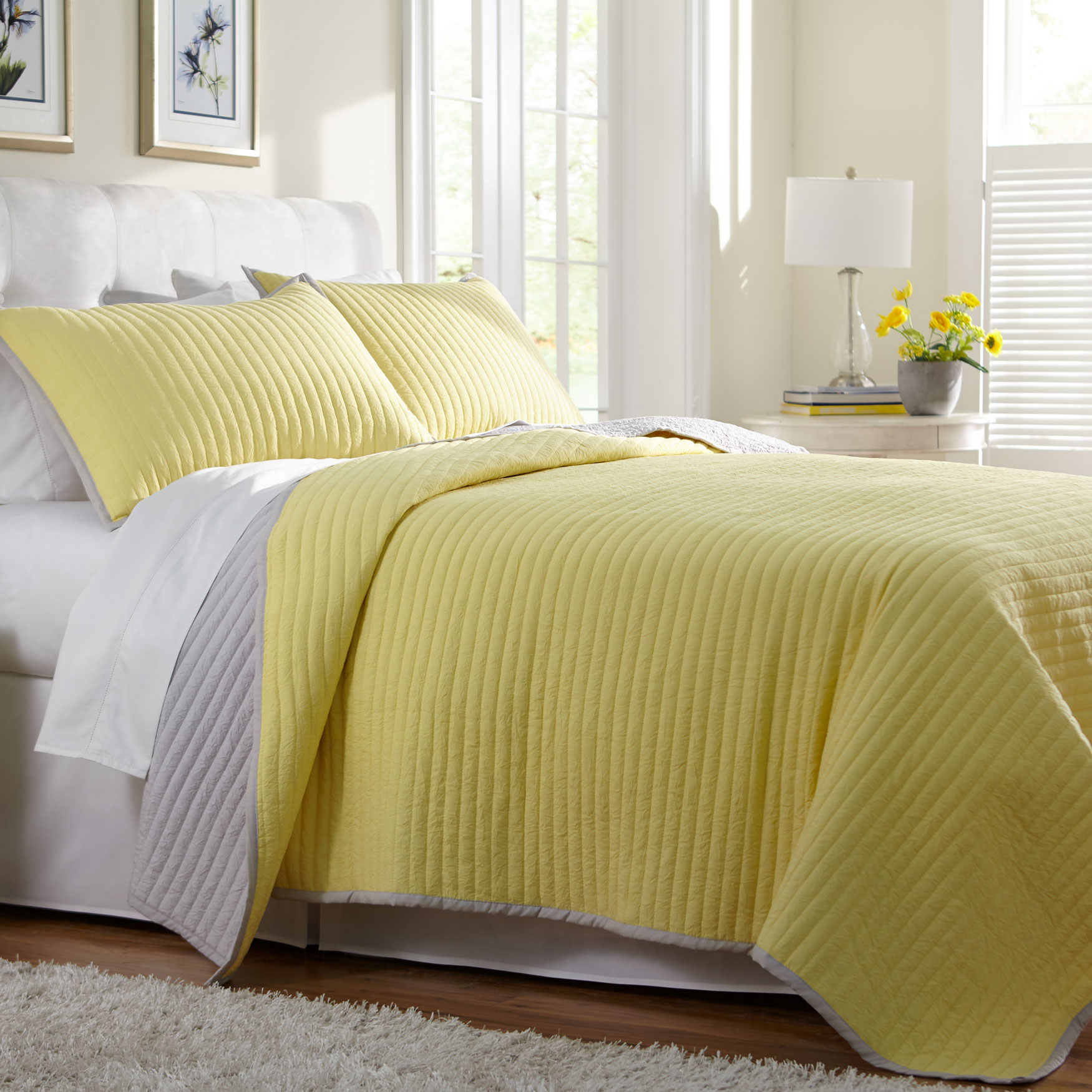 Marlow Crinkle Quilt,