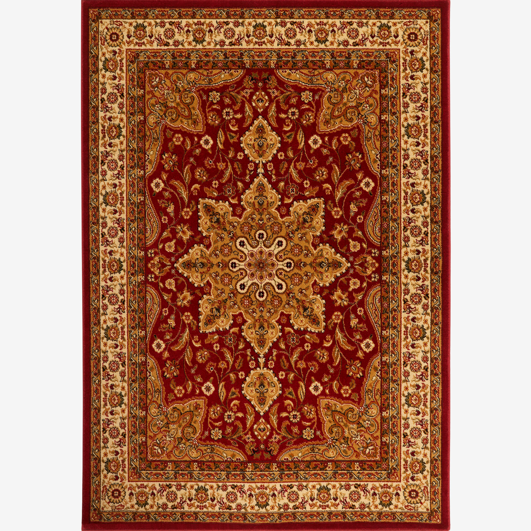 "Royalty Rug 7'8"" x 10'4"", RED"