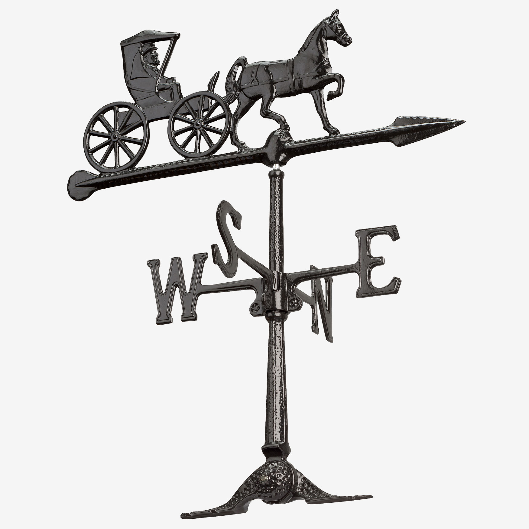"24"" Country Doctor Weathervane, BLACK"