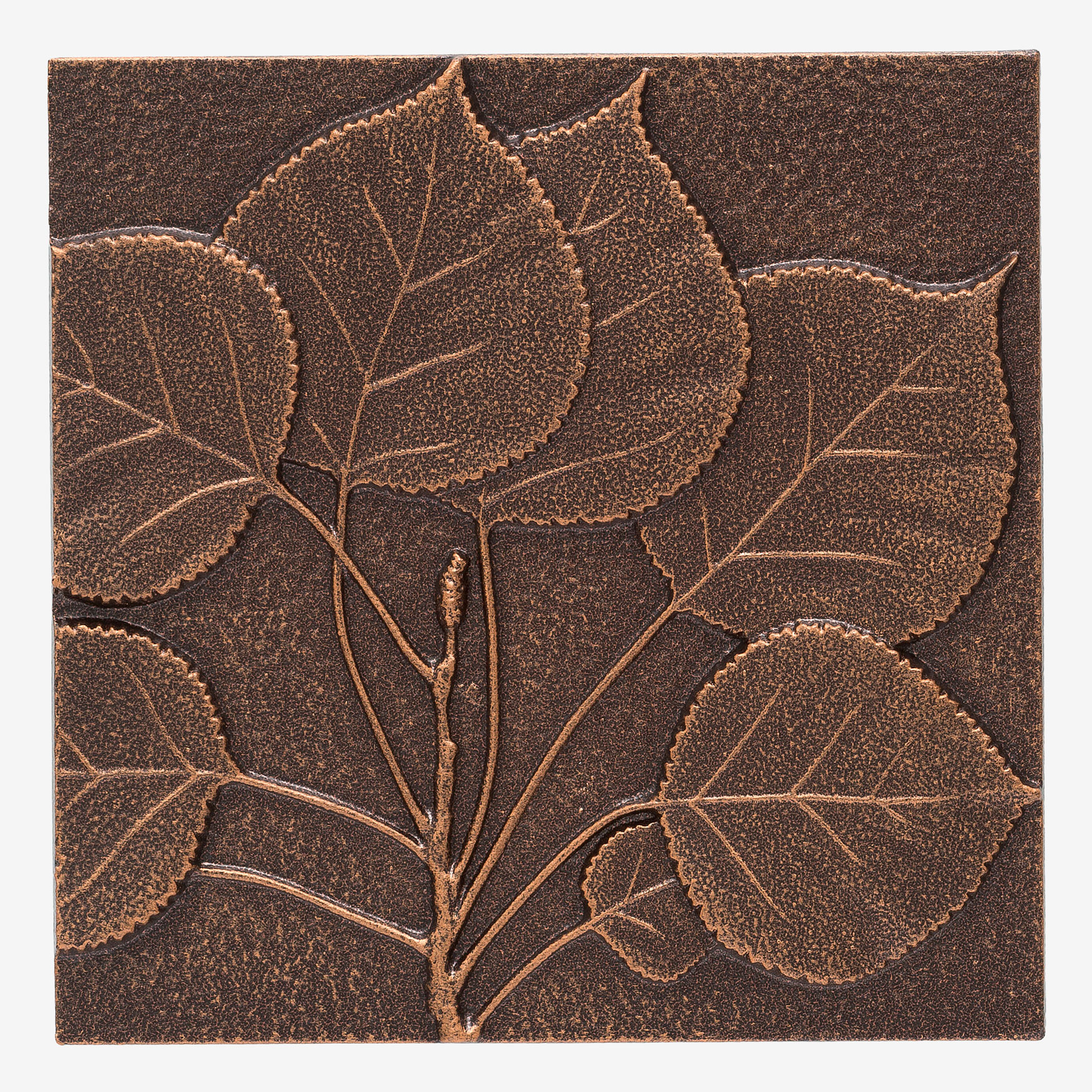 Aspen Leaf Wall Décor, ANTIQUE COPPER