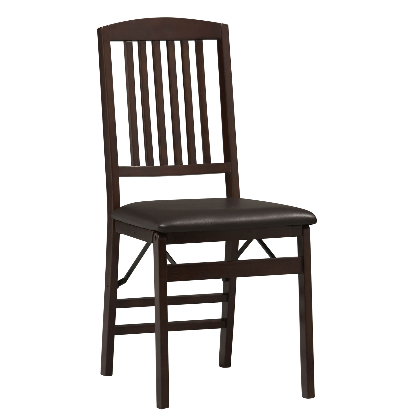 Mission Back Folding Chair, ESPRESSO
