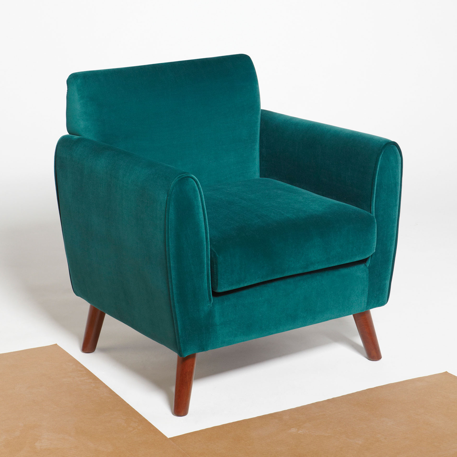 Grayson Lounge Chair, PEACOCK