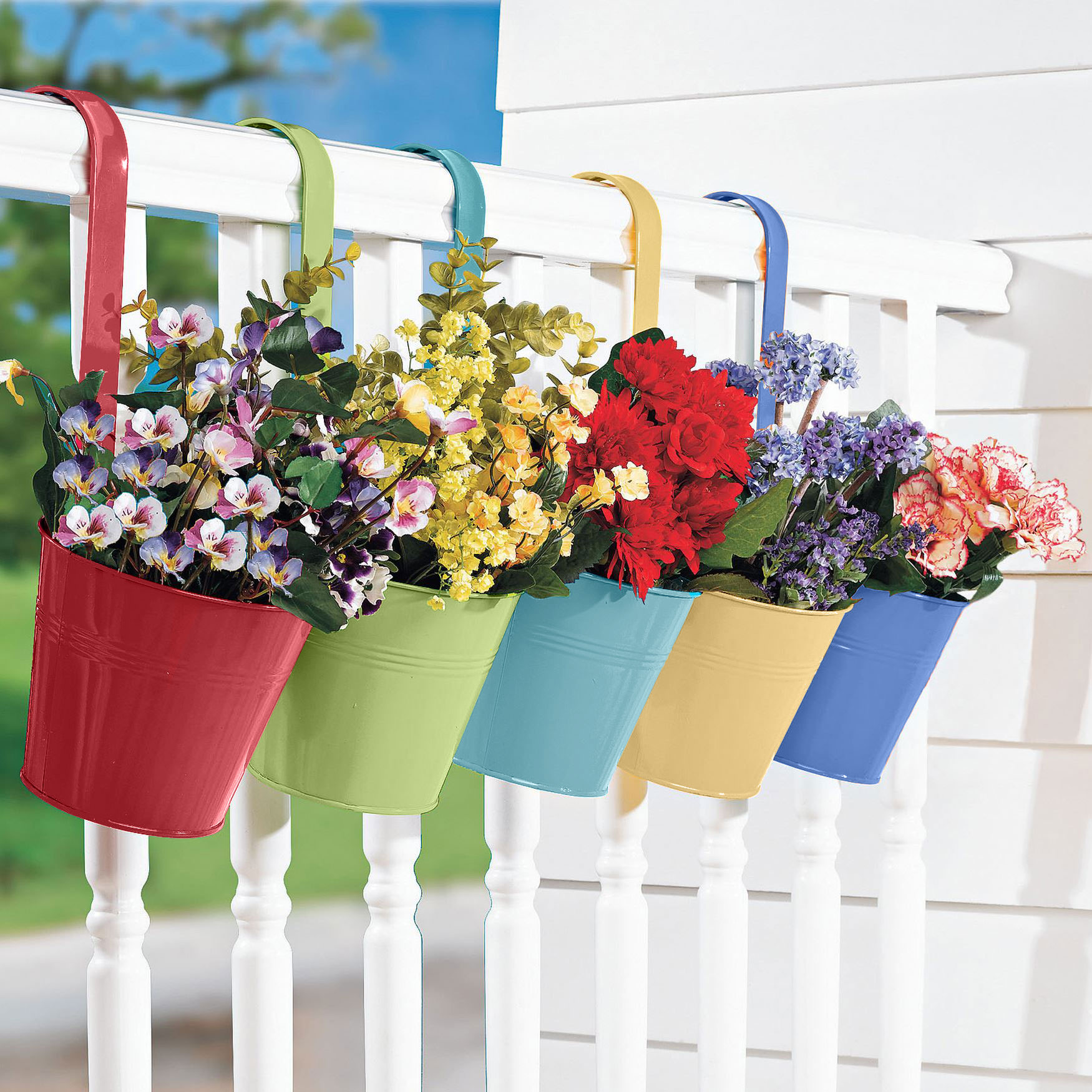 Hanging Planters, Set of 5, ASSORTED