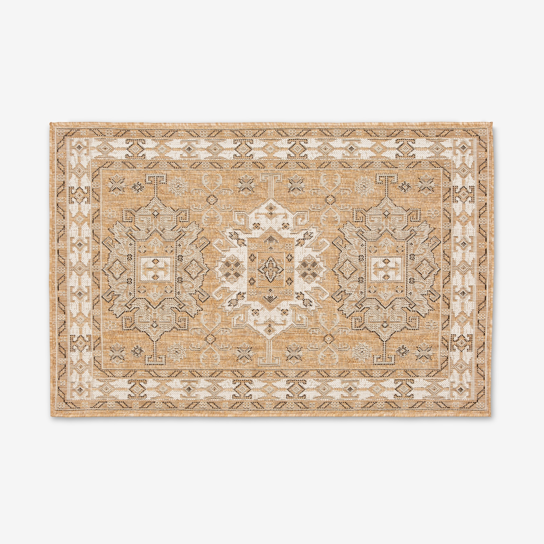 "Carmel Indoor/Outdoor Kilim Rug 3'3"" x 4'11"","