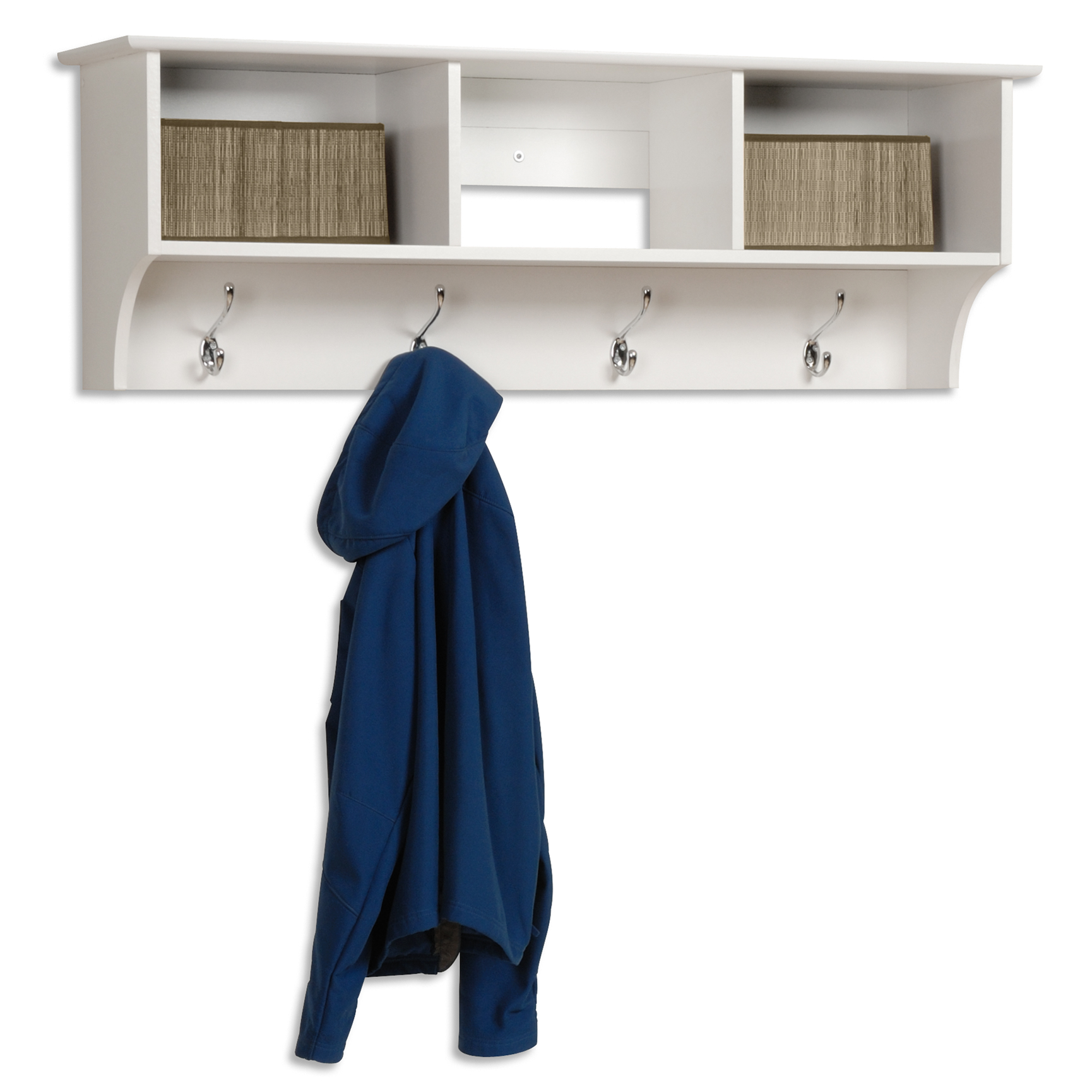 Entryway Cubbie Shelf,