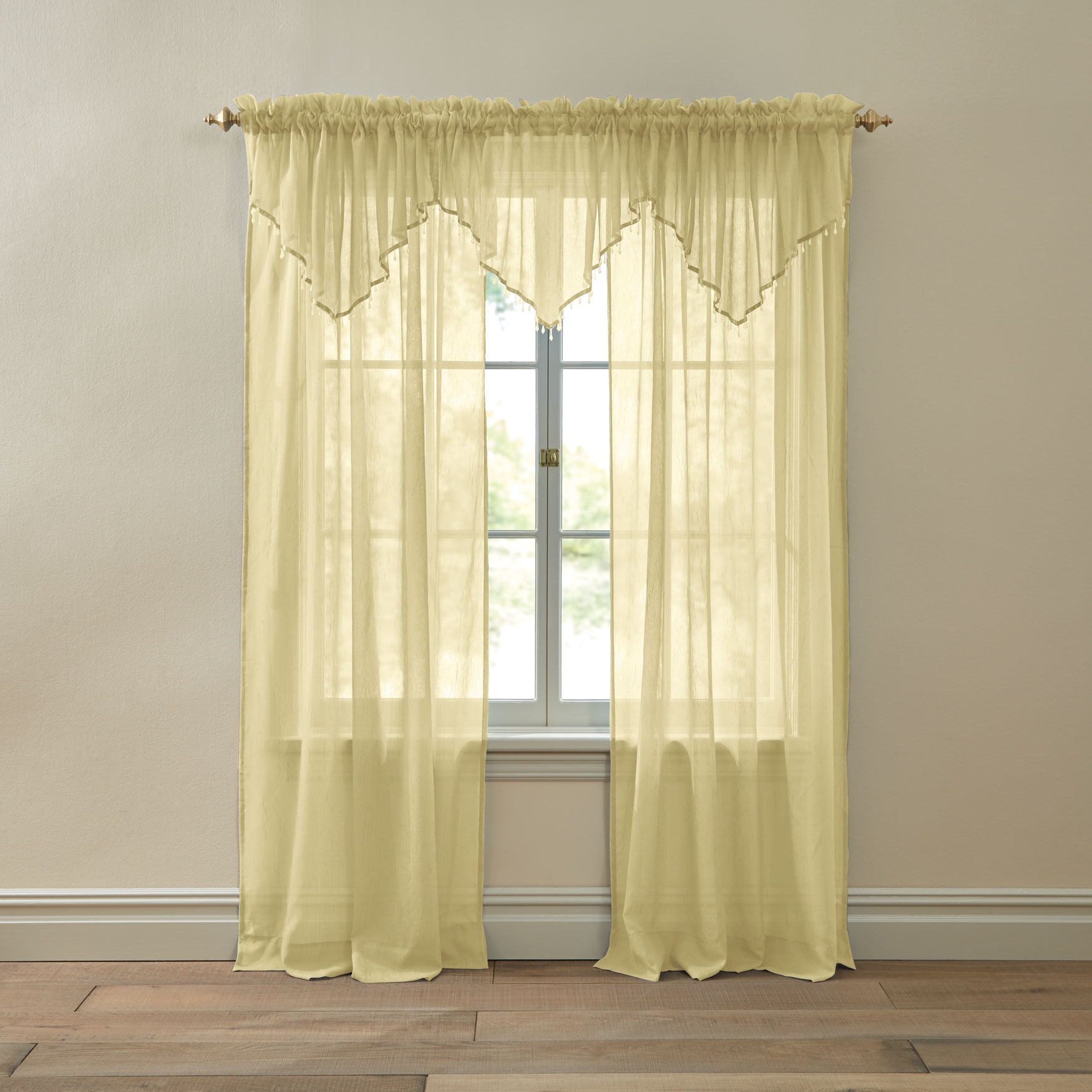 BH Studio Crushed Voile Rod-Pocket Panel,