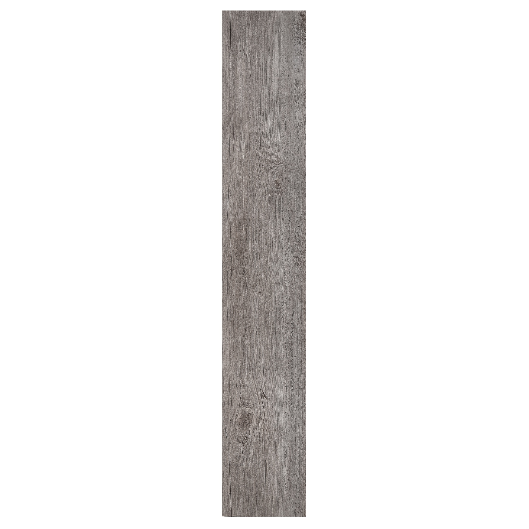 "Sterling 6"" x 36"" 2.0mm Self Adhesive Vinyl Floor Planks, LIGHT GREY OAK"