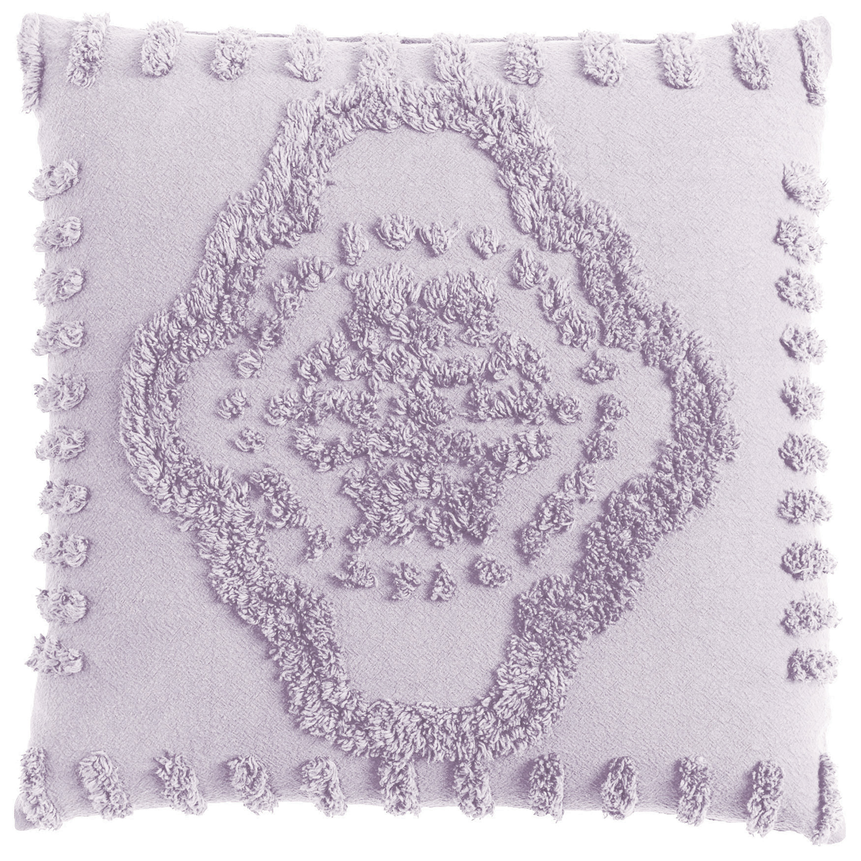 Madison Chenille Sq. Pillow, LILAC