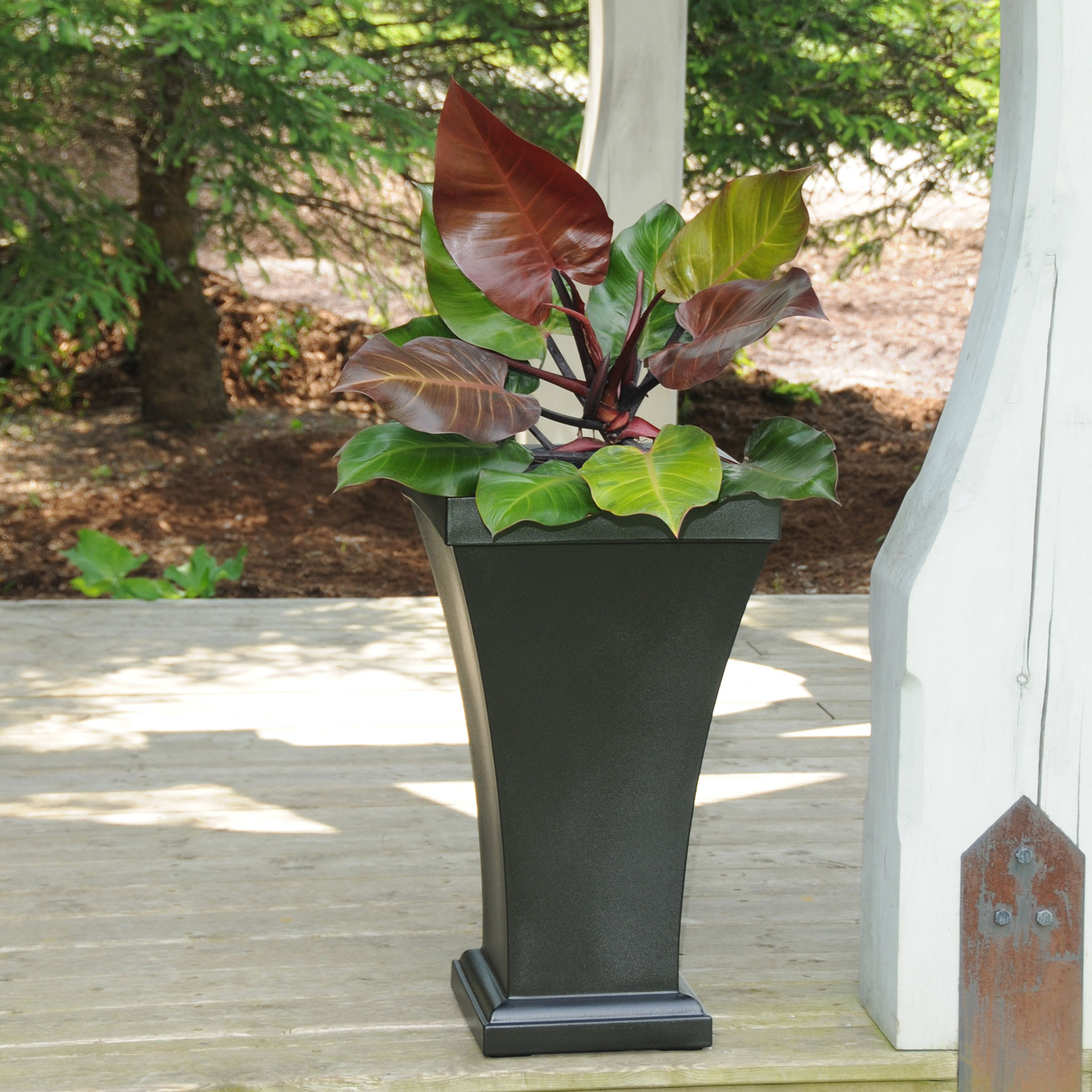 Mayne® Bordeaux Tall Planter,
