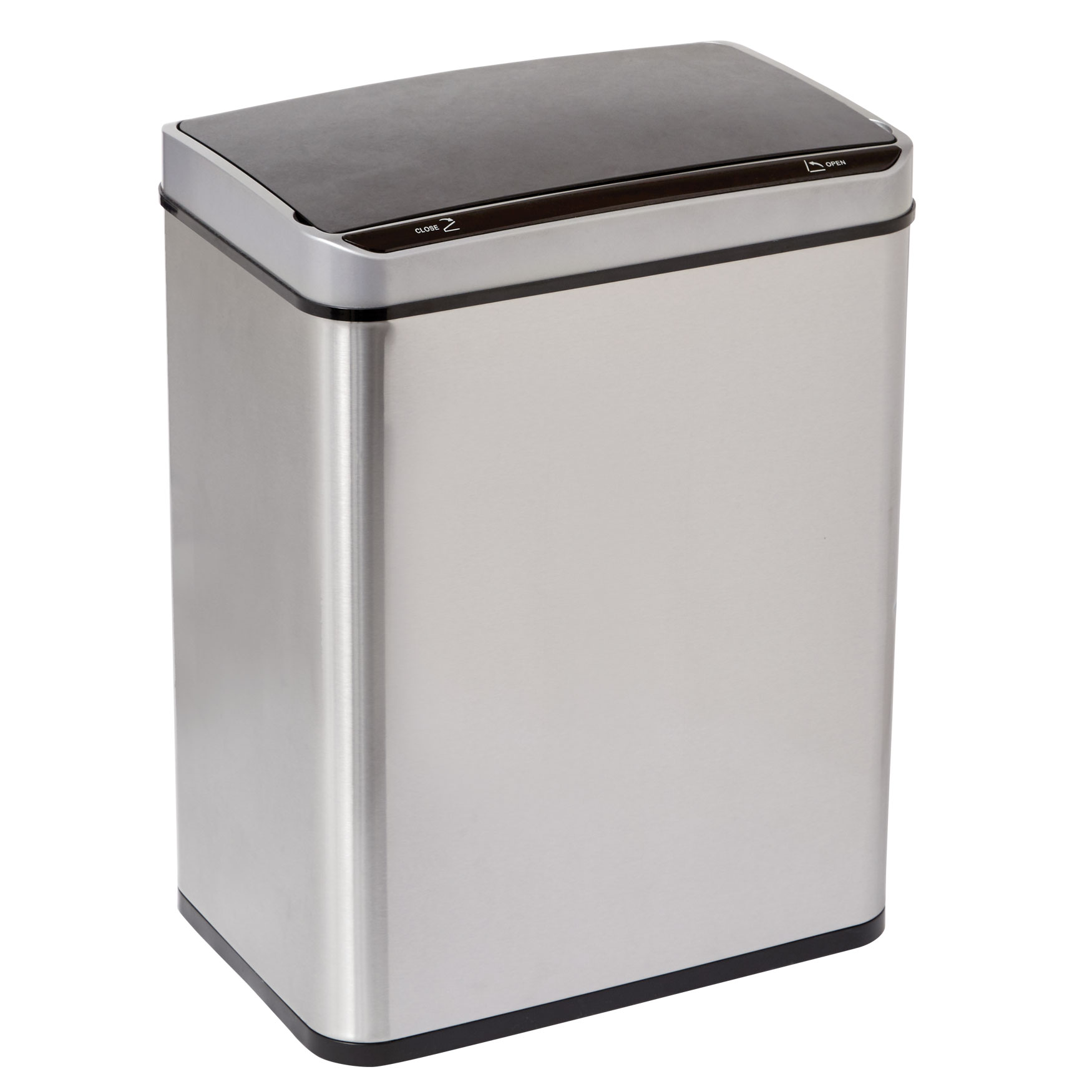 Wide 50-Lt. Sensor Trash Can,
