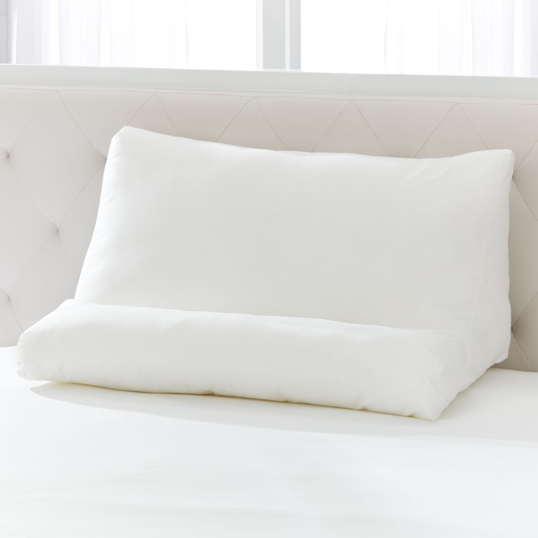 XL Flip Pillow, WHITE