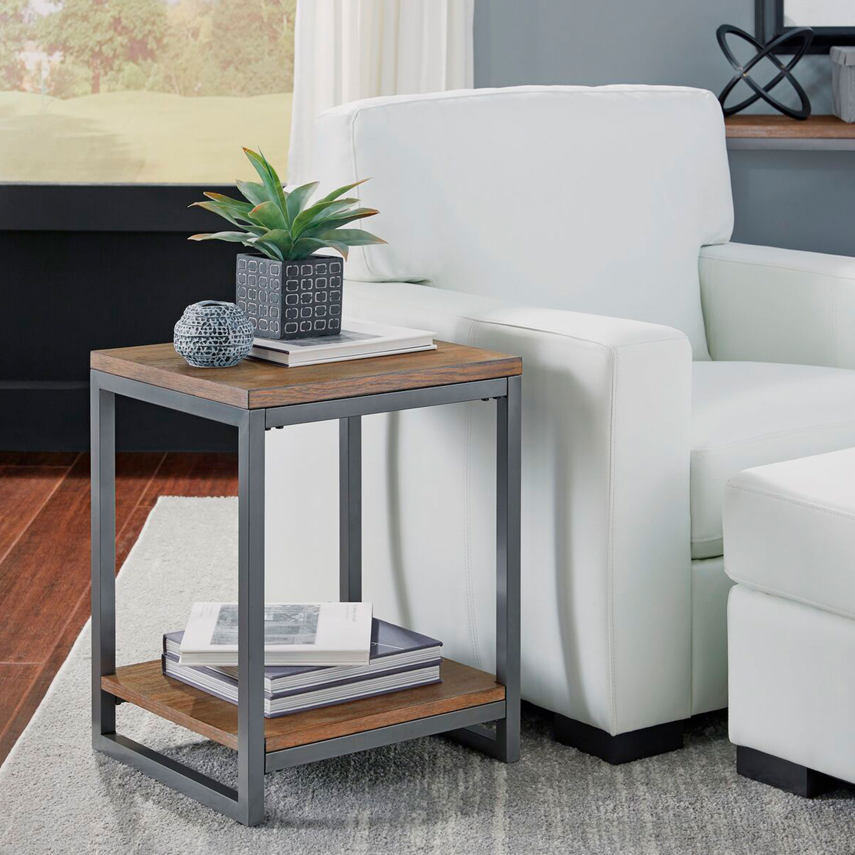 Barnside Metro End Table, GRAY