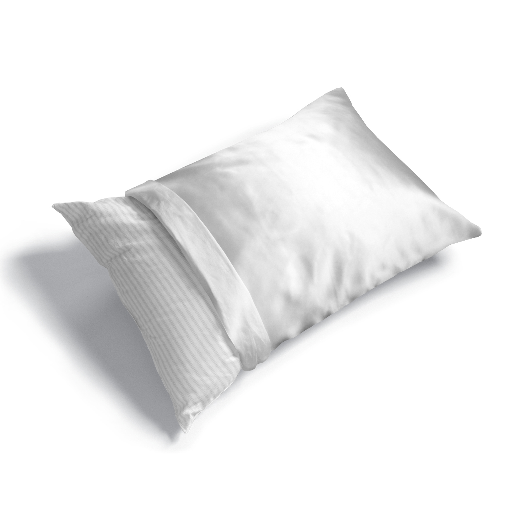 6-Pack Satin Polyester Pillow Protector,