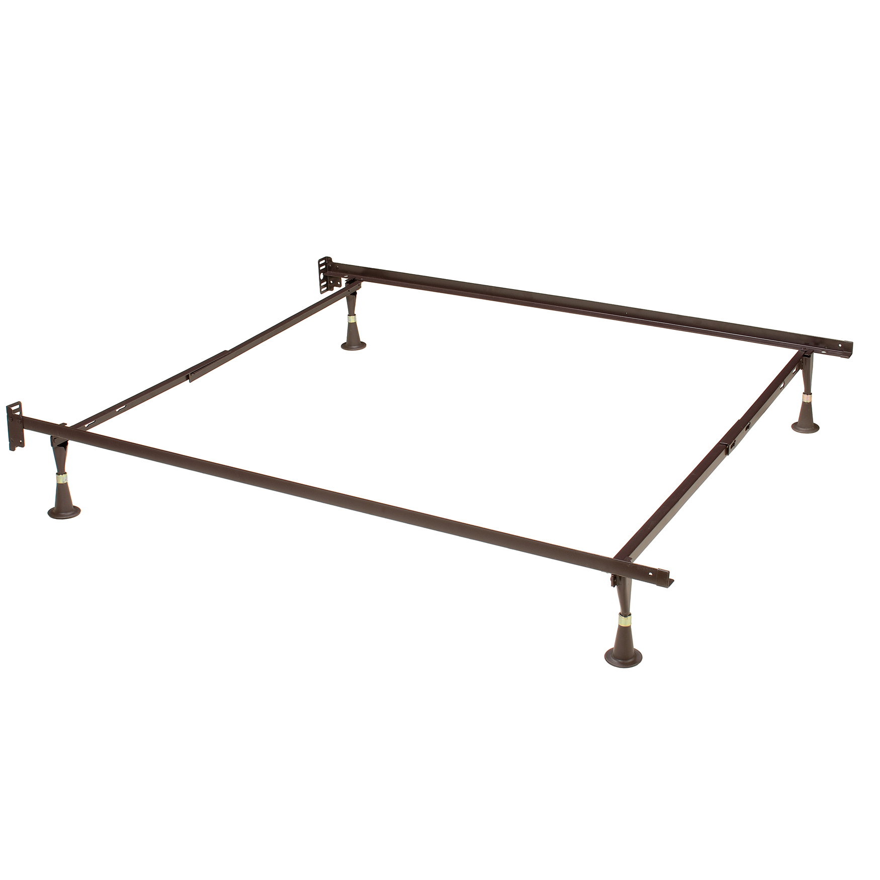 Hillsdale 4 Leg Twin/Full Bed Frame, METAL
