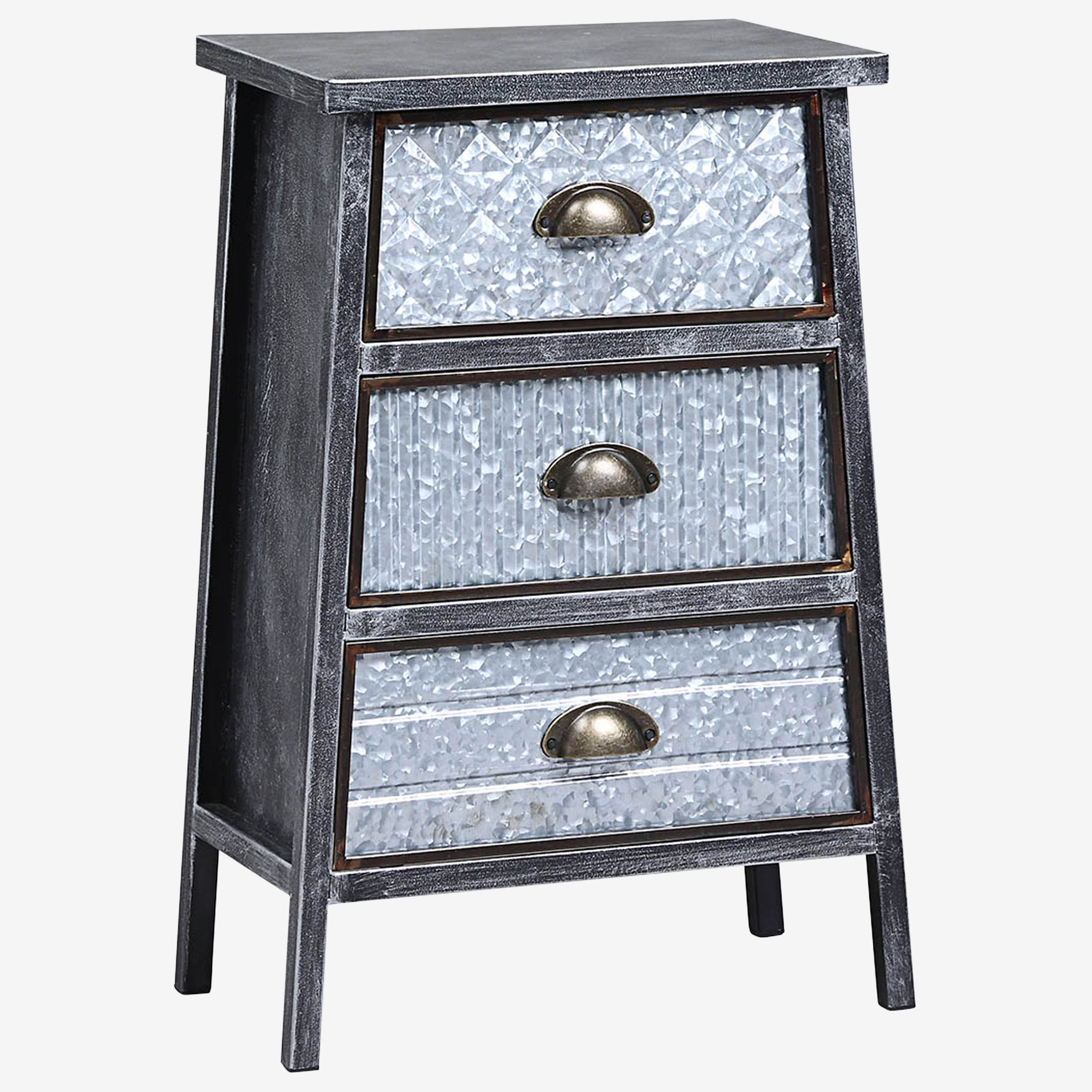 Armata Collection 3 Drawer Chest, MULTI