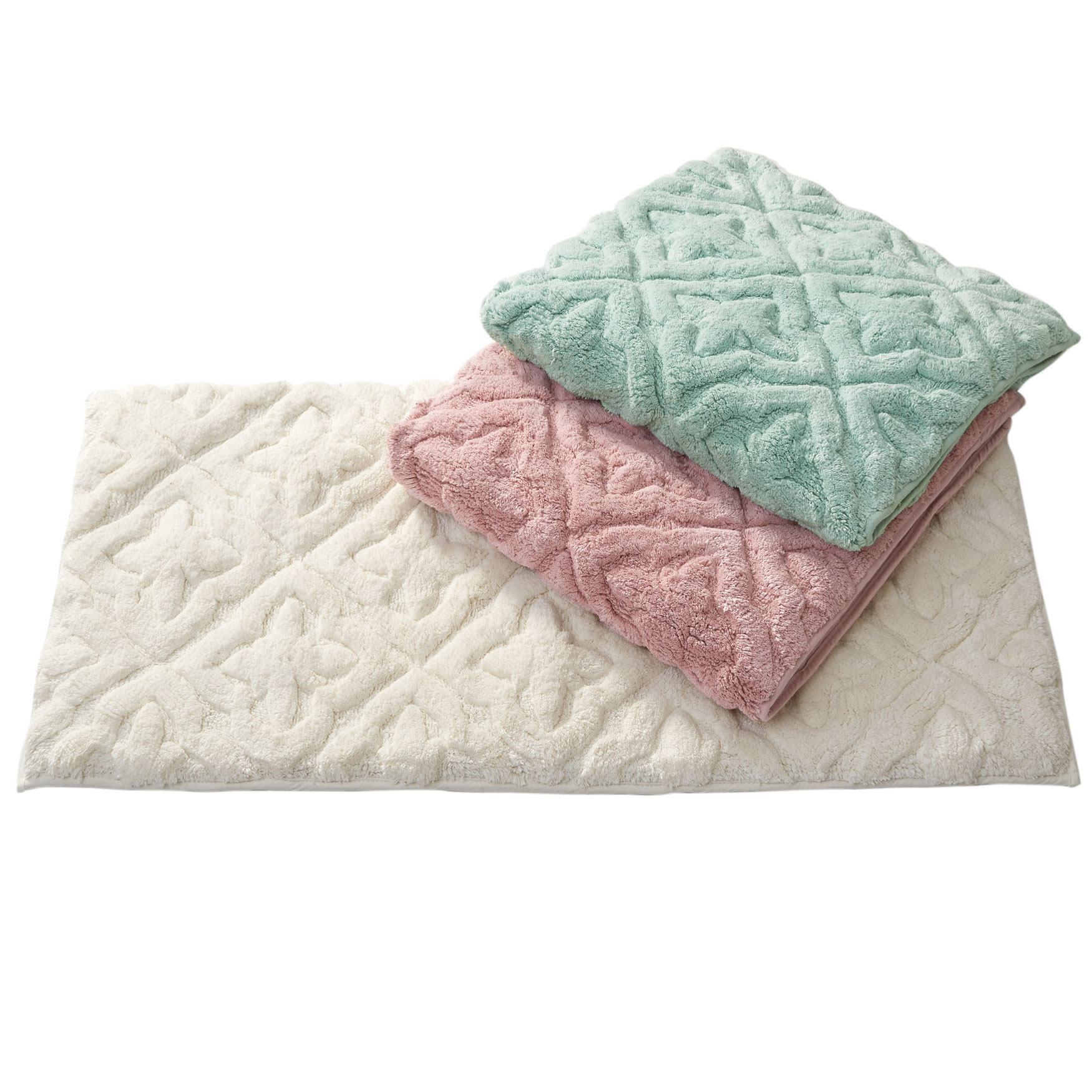 Sterling Medium Memory Foam Bath Rug, IVORY