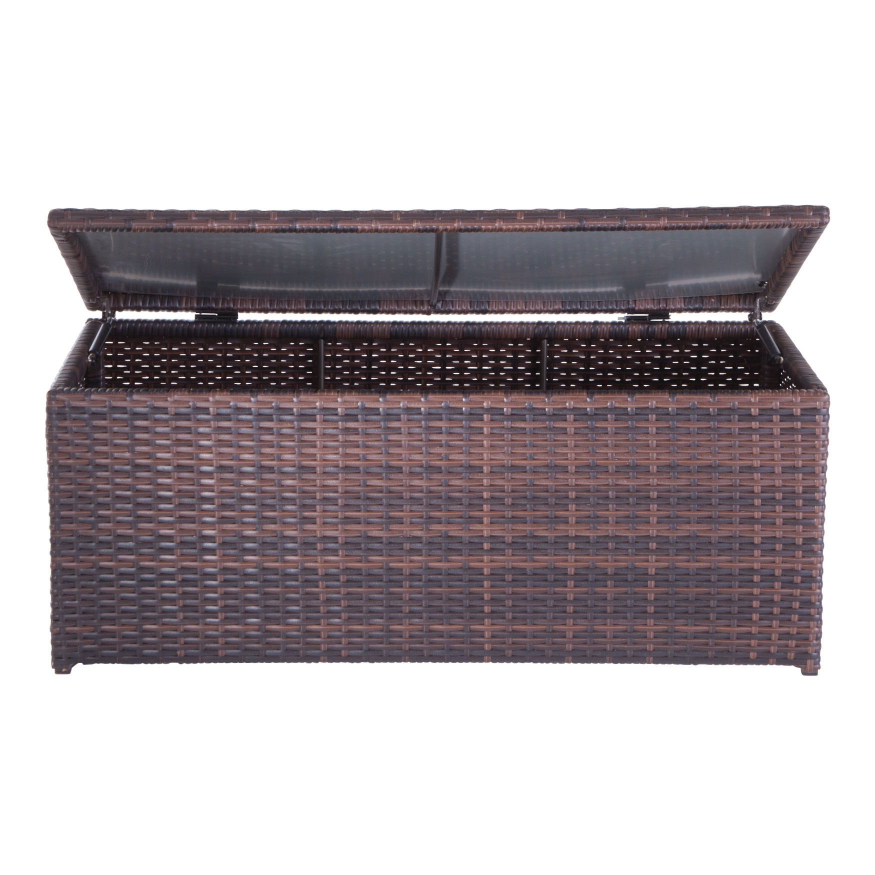 Santiago Deck Box, BROWN