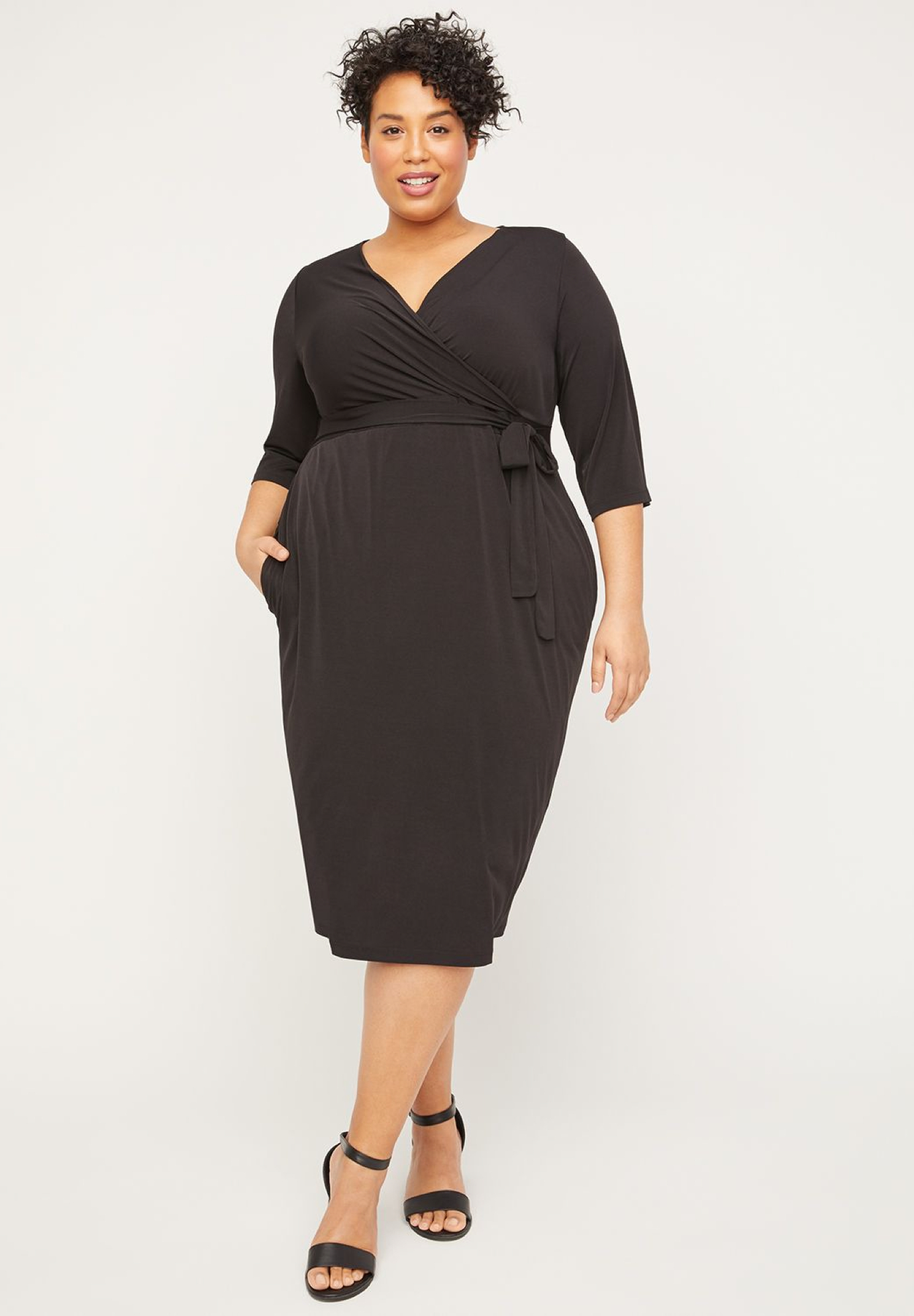 Cromwell Hill Wrap Dress (With Pockets),