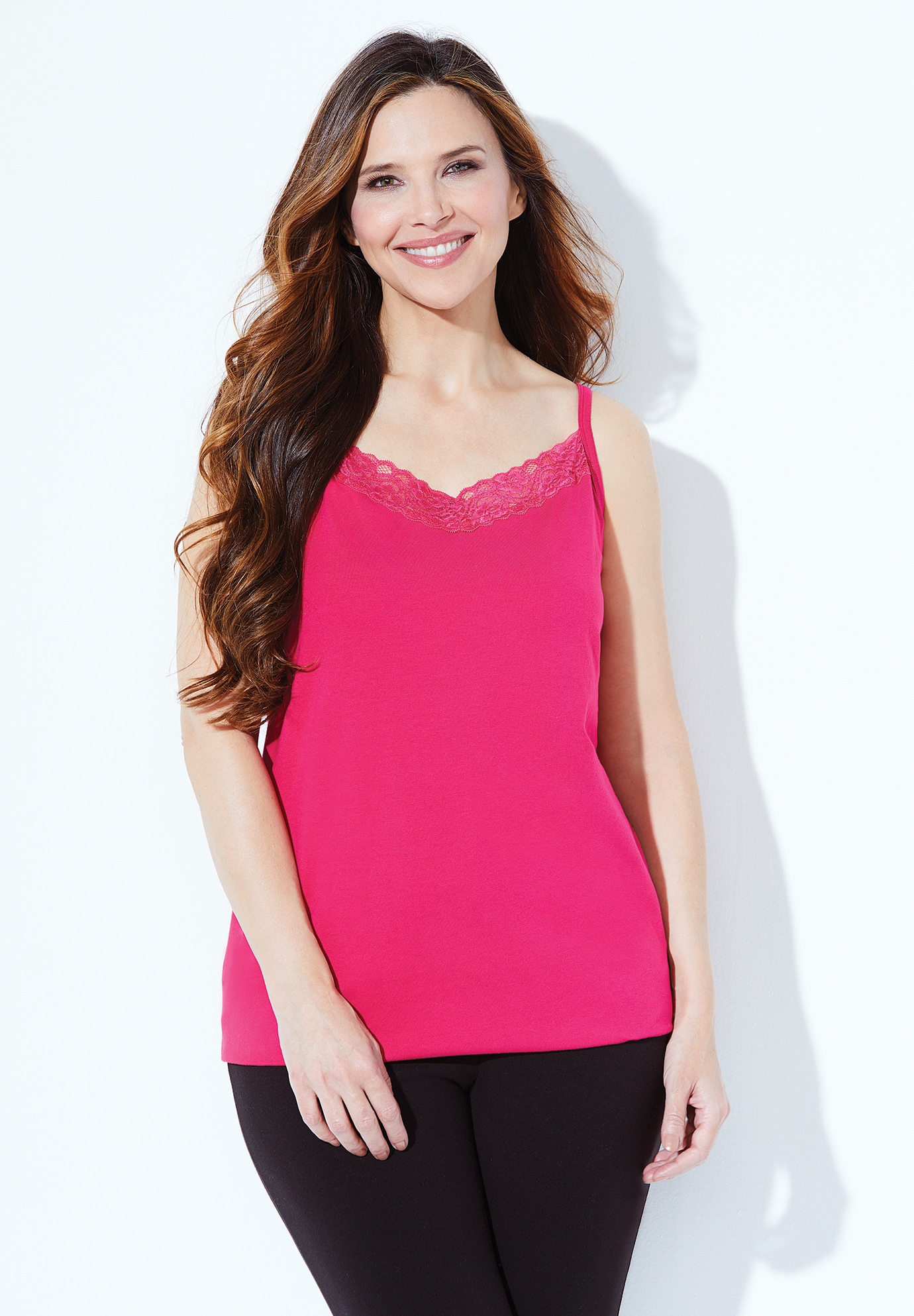 Suprema Cami With Lace,
