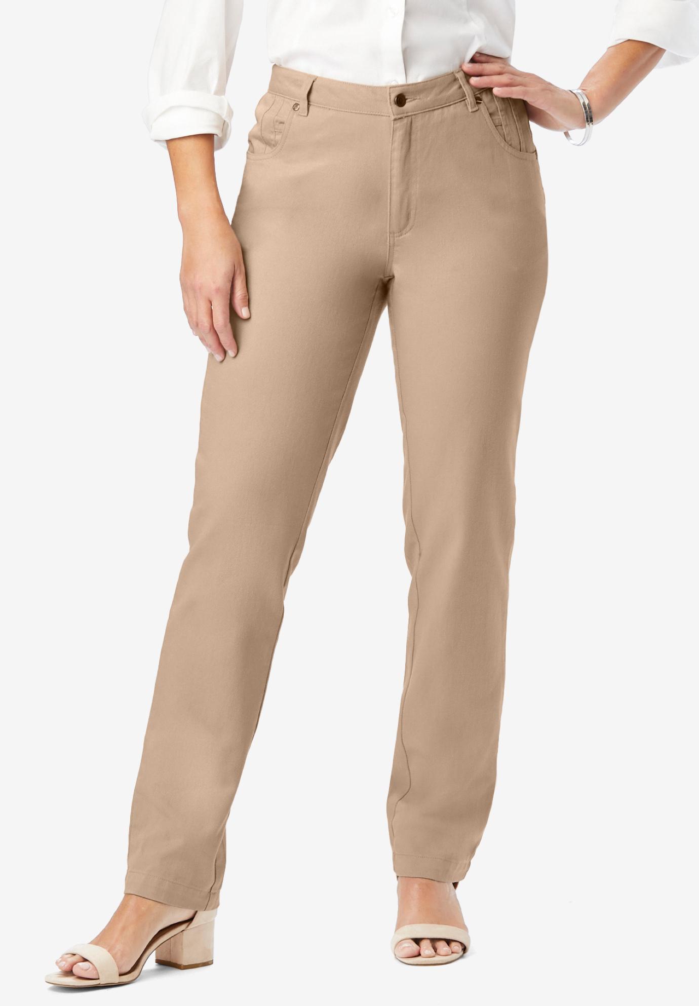 484a25d6351c8 Classic Cotton Denim Straight Jeans