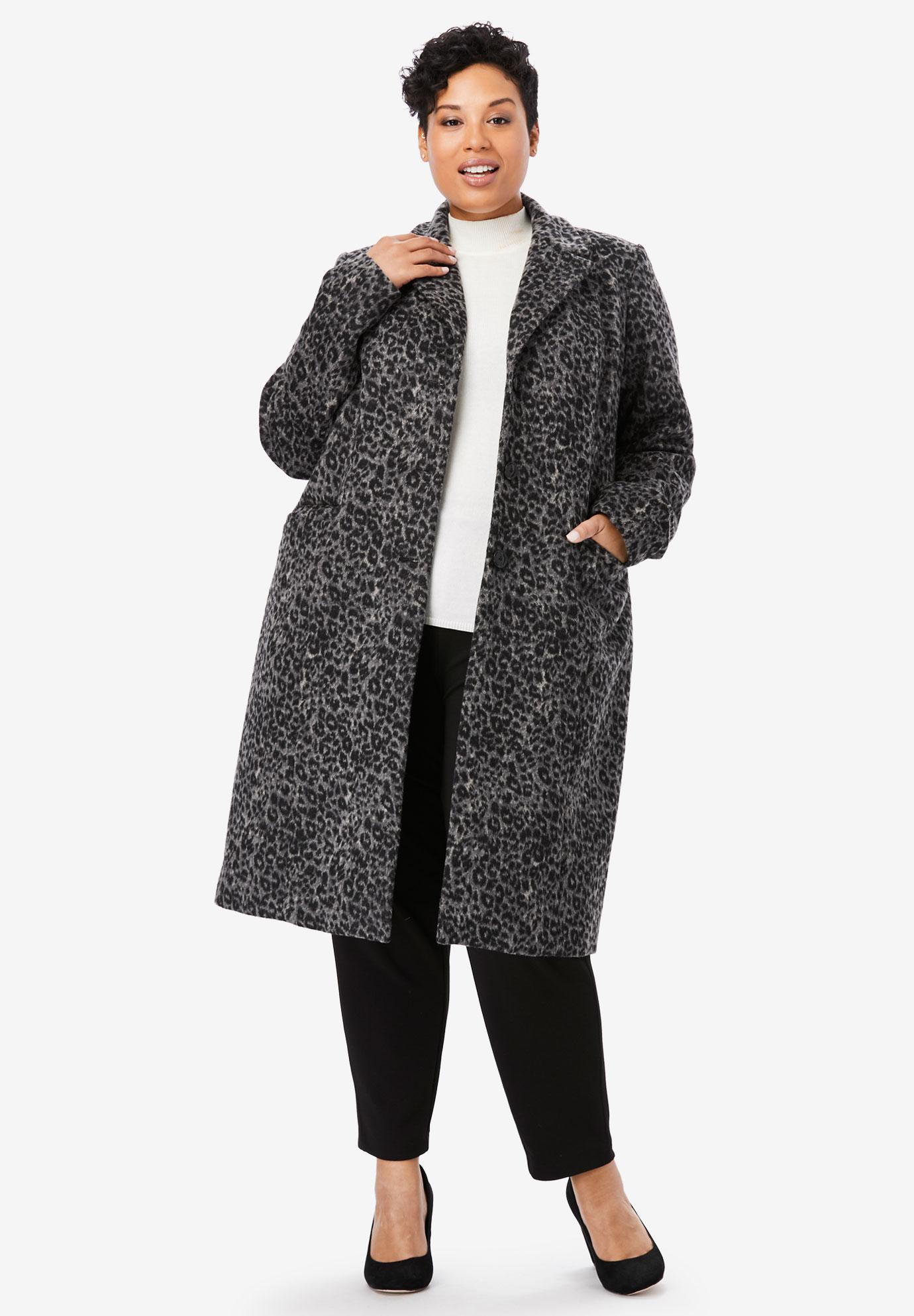 05338d96ead Wool-Blend Coat