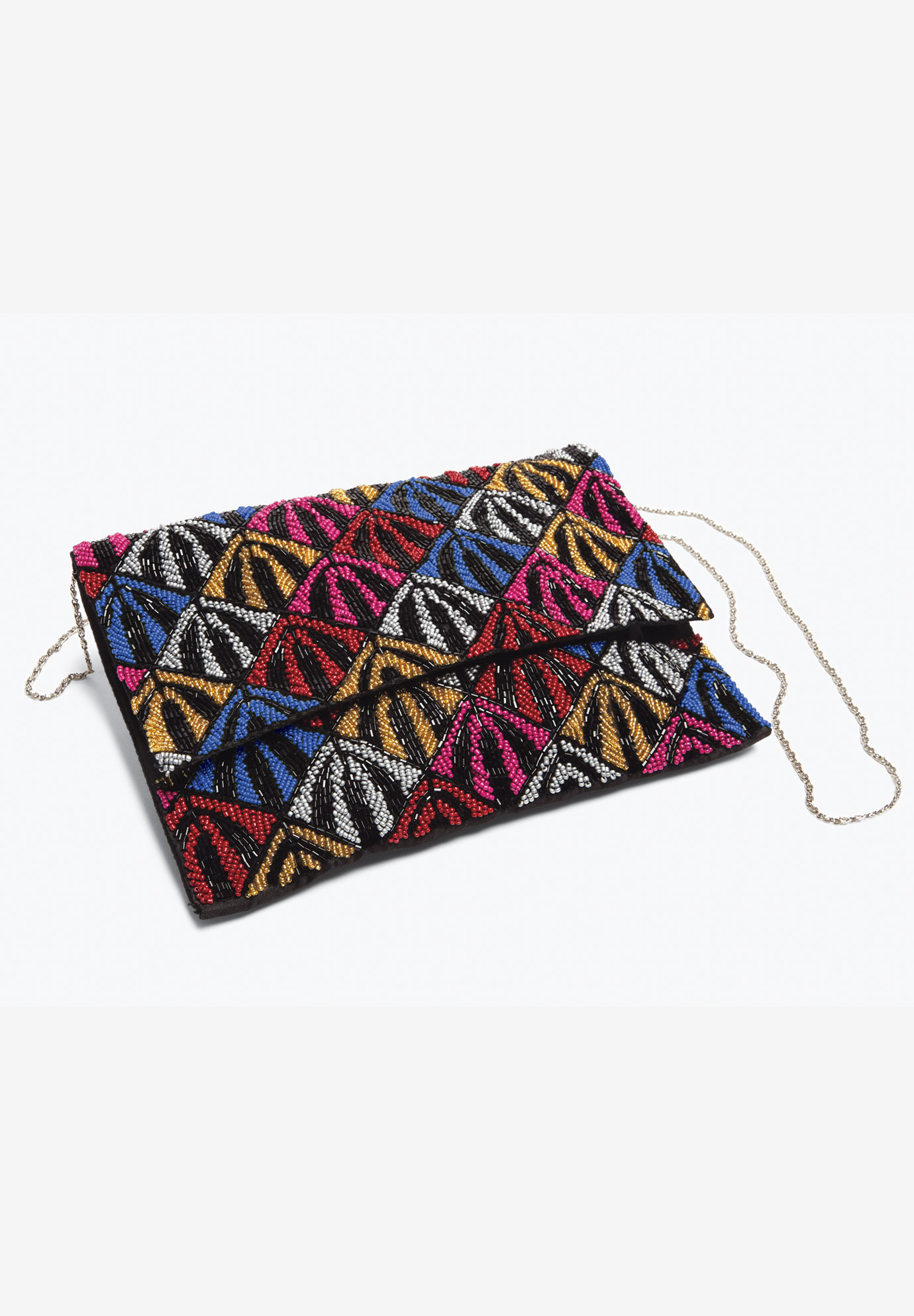 Beaded Bag, MULTI COLOR BEADING