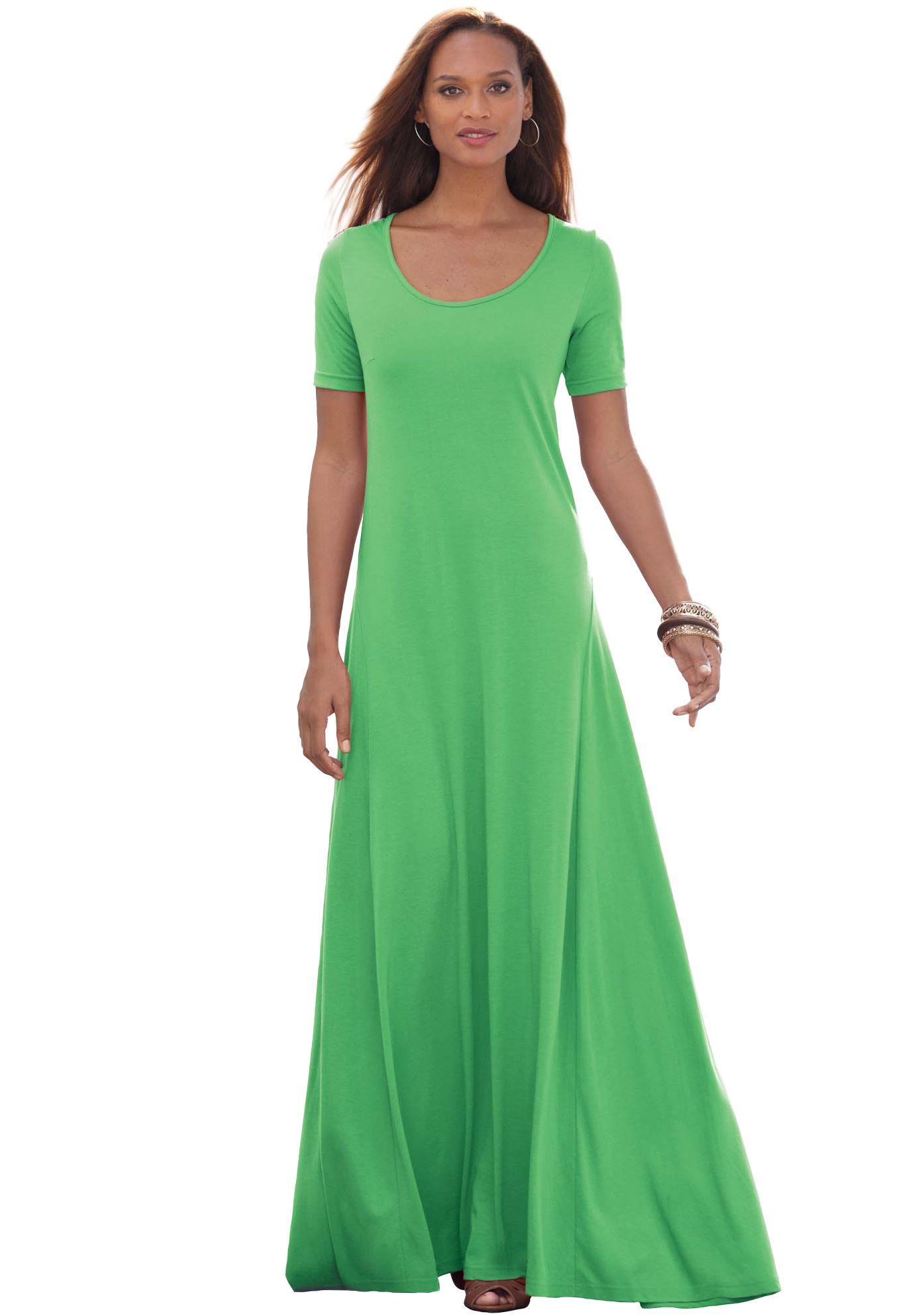 Tee Shirt Maxi Dress Plus Size Casual Dresses Full Beauty