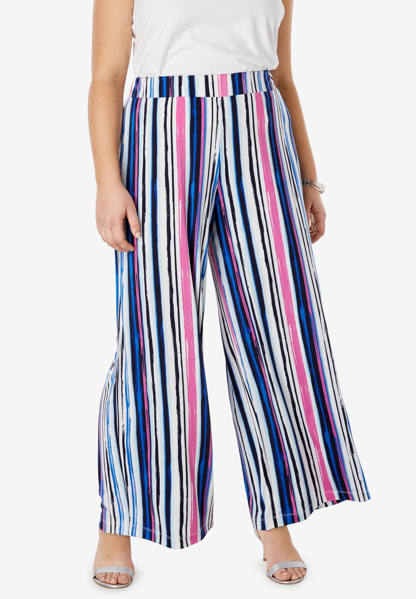 c0e9e90dbdf Travel Knit Wide Leg Pants
