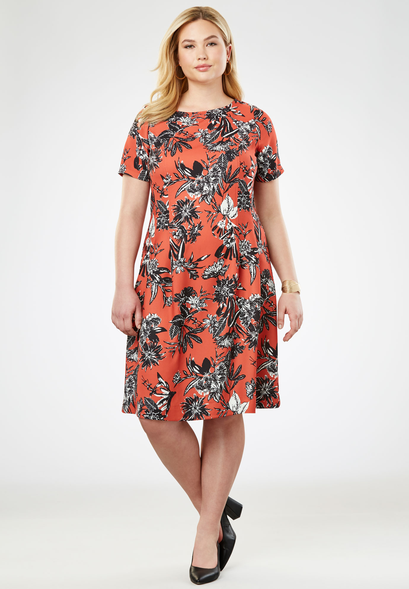 Fit & Flare Dress,
