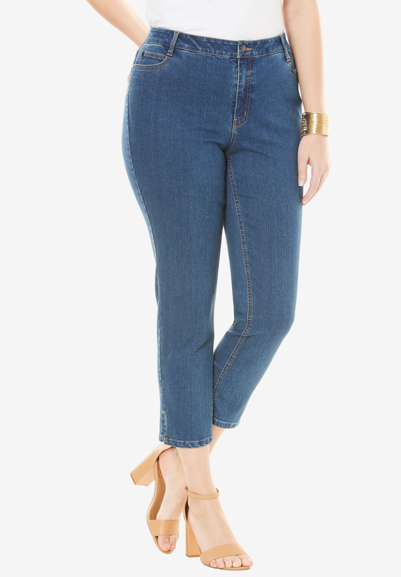 True Fit Ankle Jean,