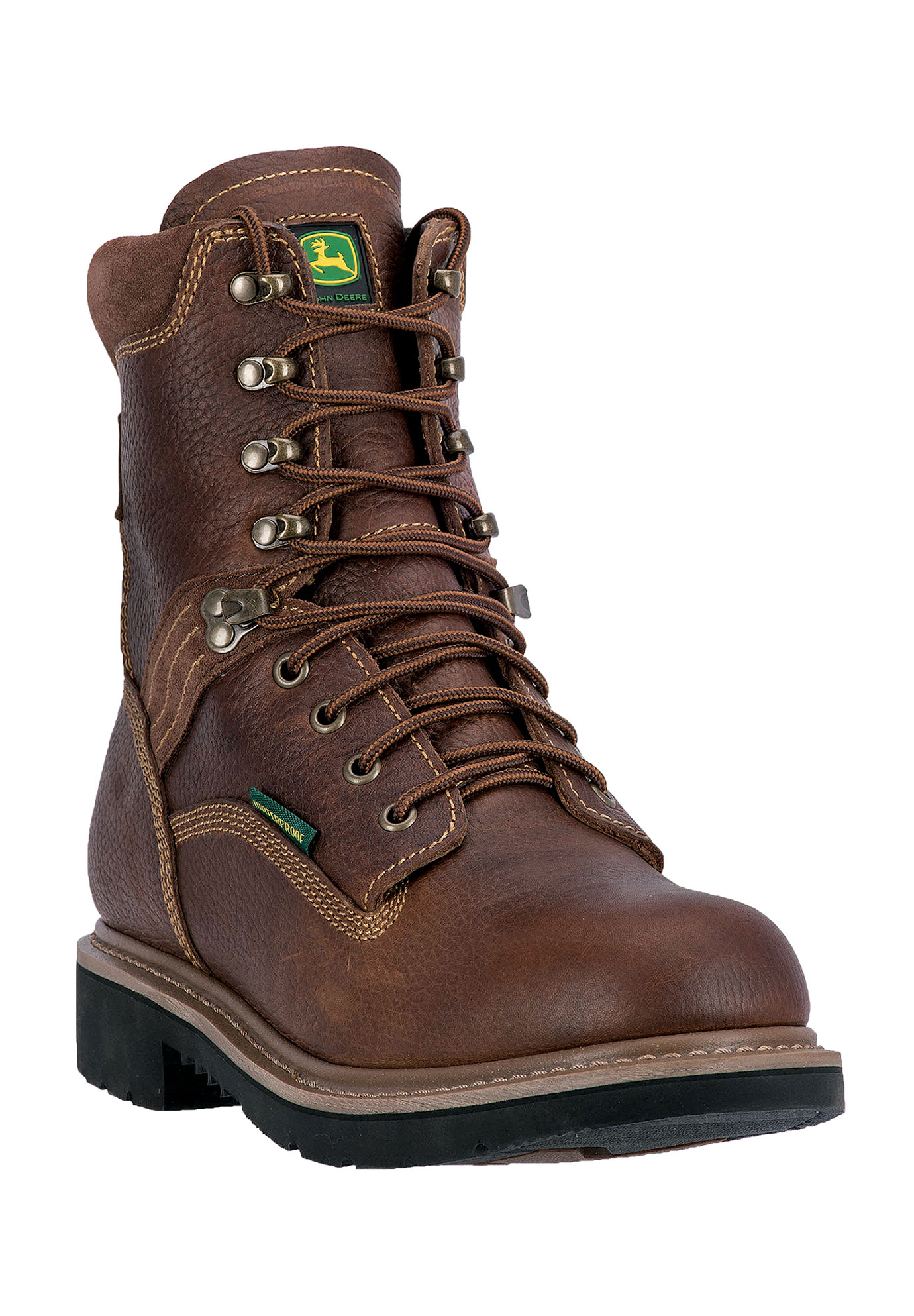"John Deere® 8"" All Around Waterproof Steel Toe,"