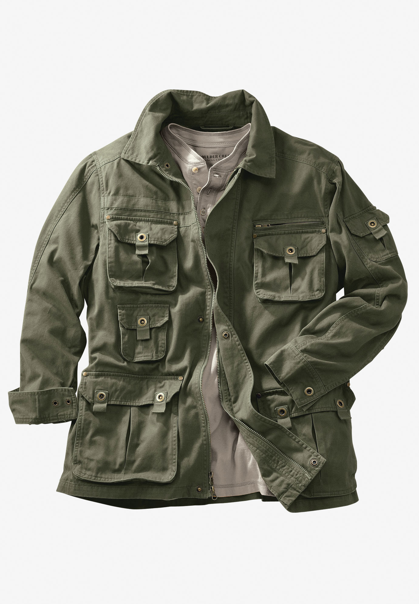 Boulder Creek® Multi-Pocket Twill Jacket,
