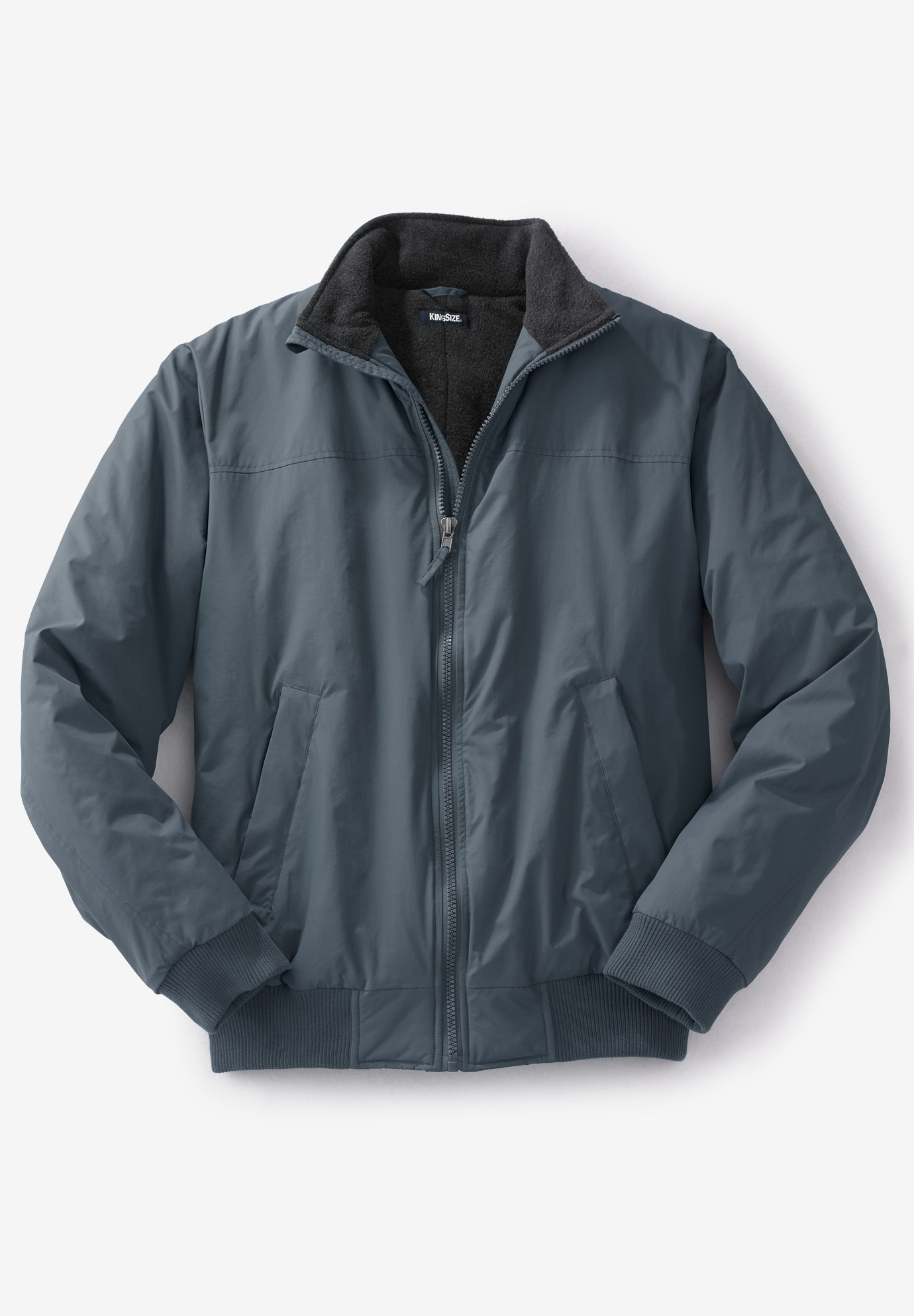 5f6bdd24b Fleece-Lined Bomber Jacket