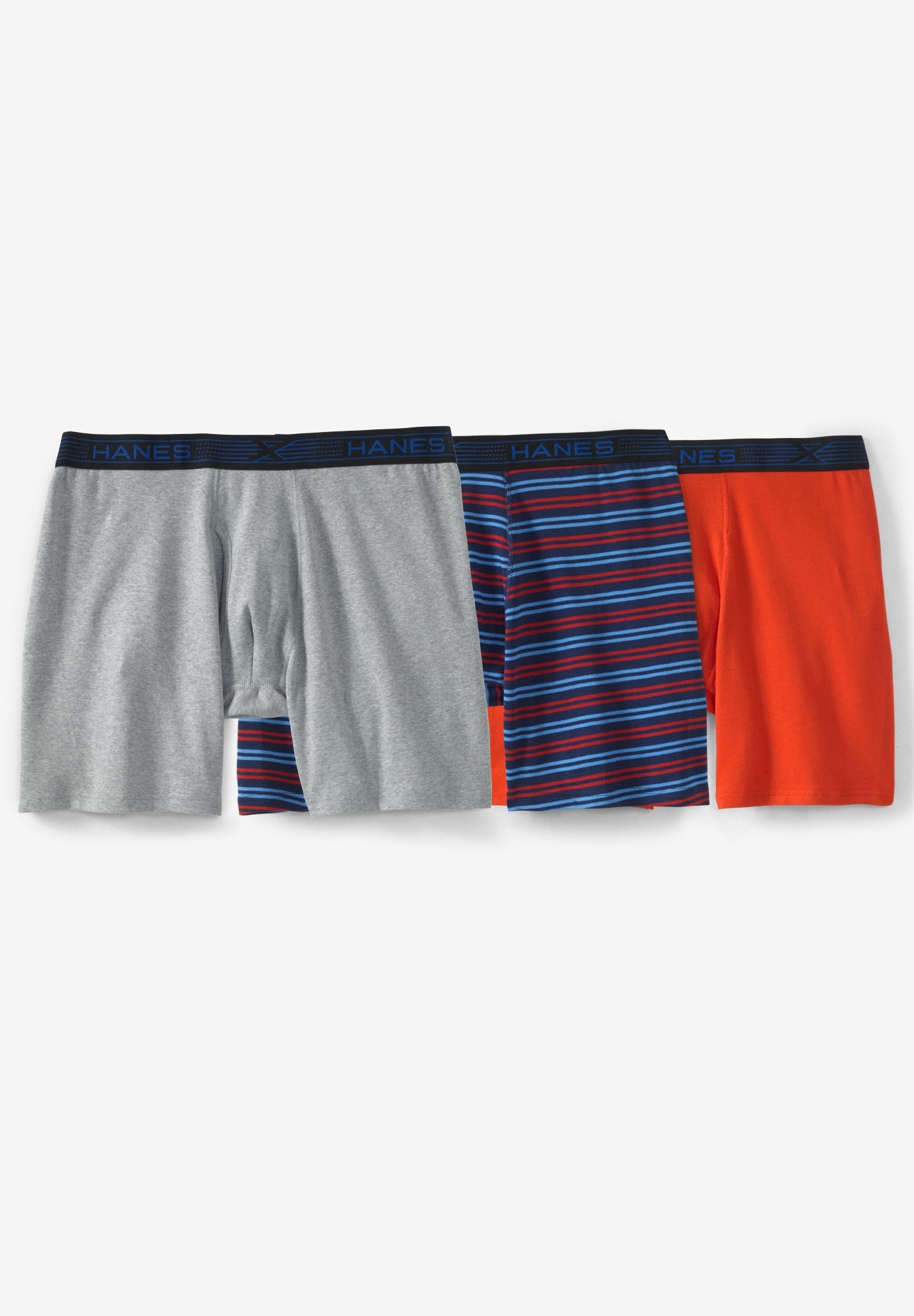 Hanes® X-Temp® FreshIQ® Novelty Boxer Brief 3-Pack,
