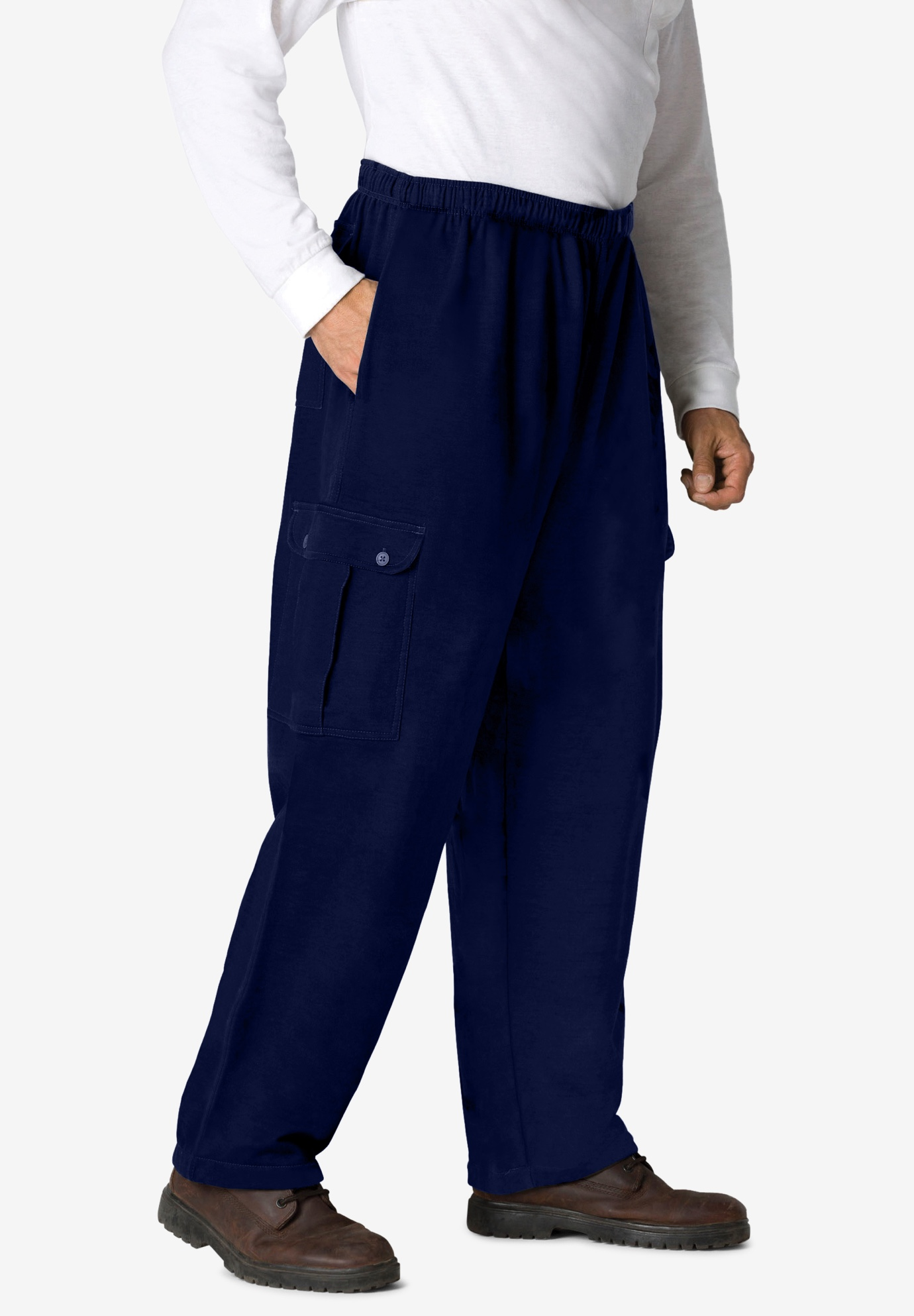 Thermal-Lined Cargo Pants,