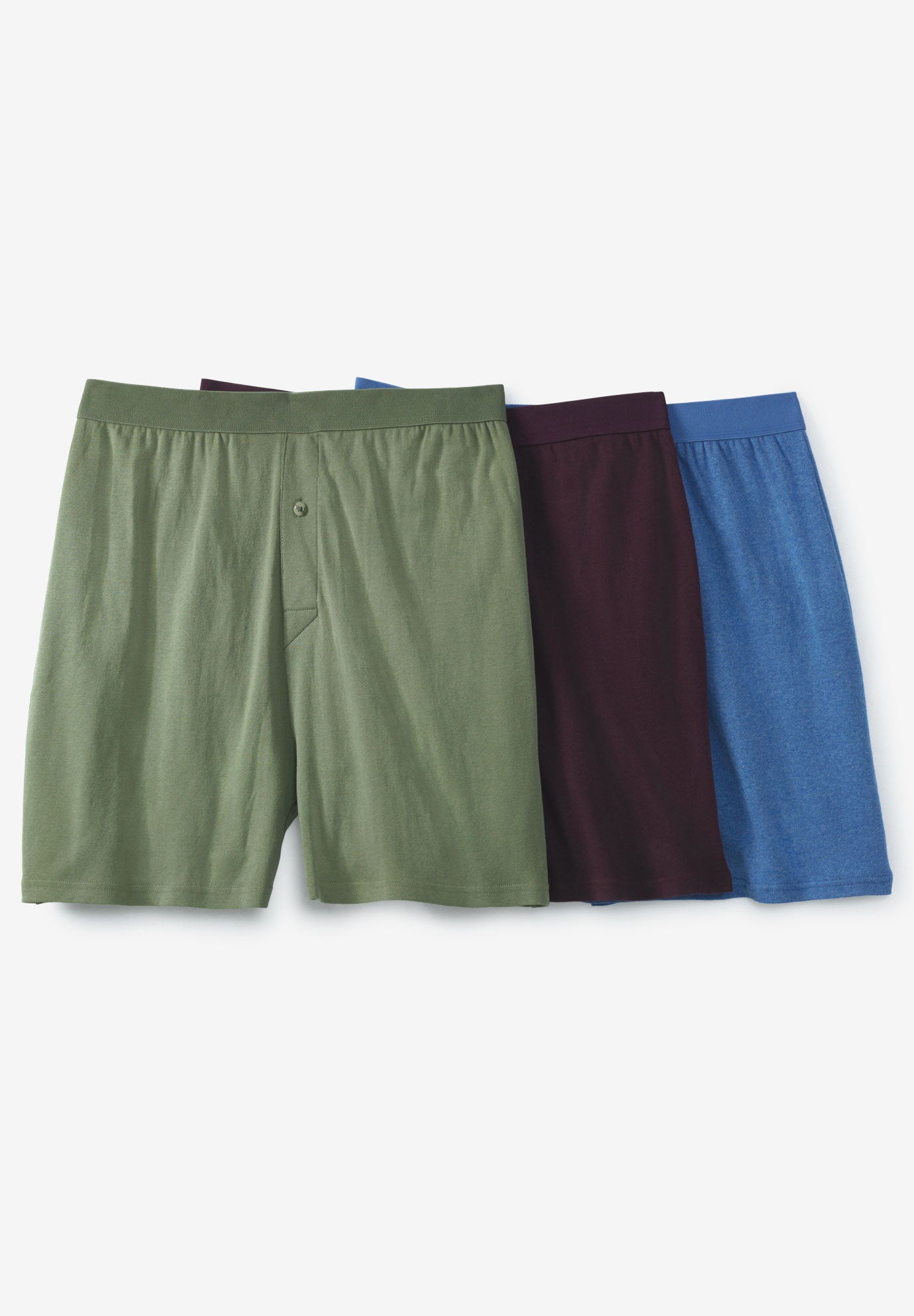 Cotton Boxers 3-Pack,