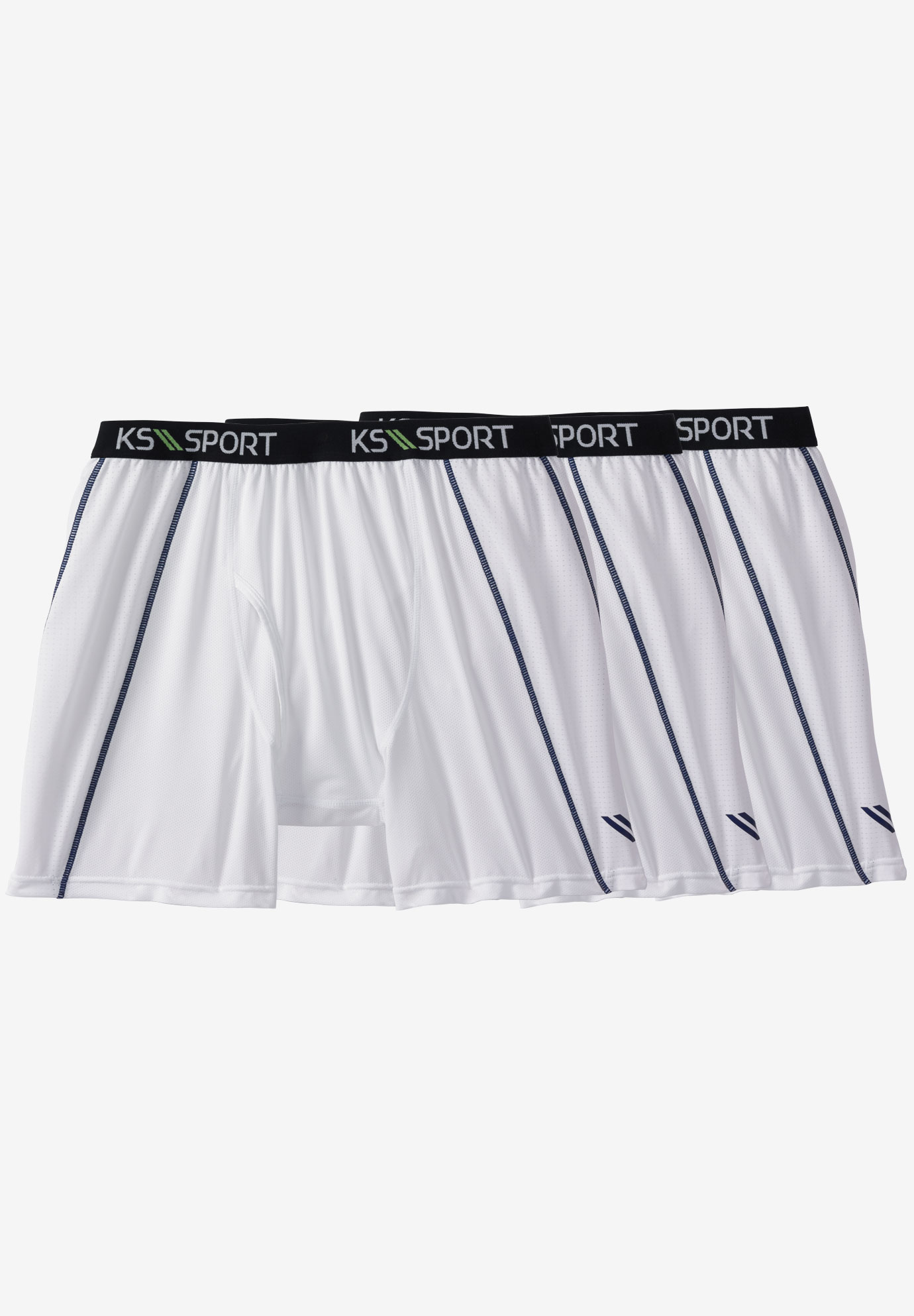 KS Sport™ Performance Cycle Briefs 3-Pack,