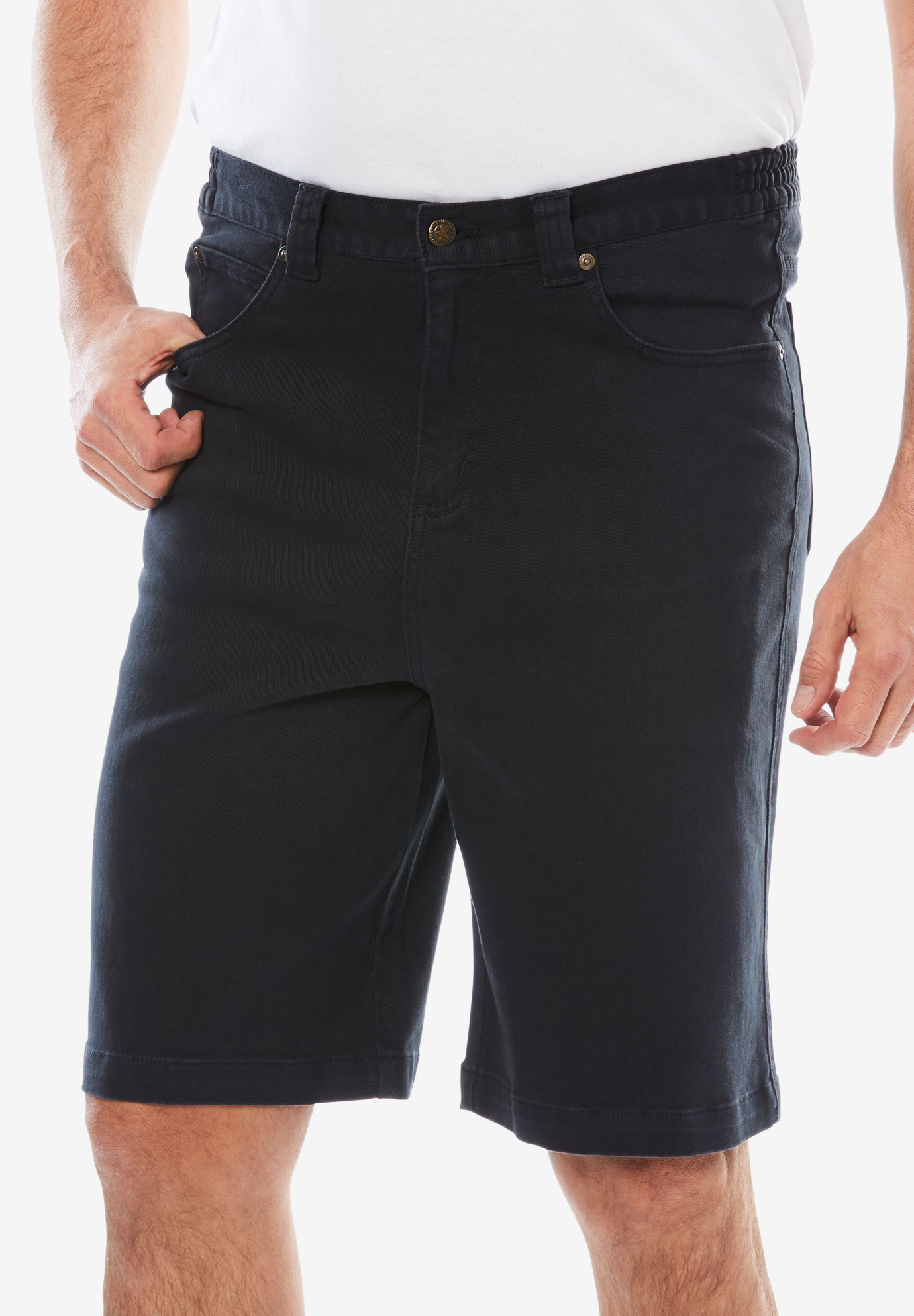 Relaxed Fit 5-Pocket Shorts by Liberty Blues®,