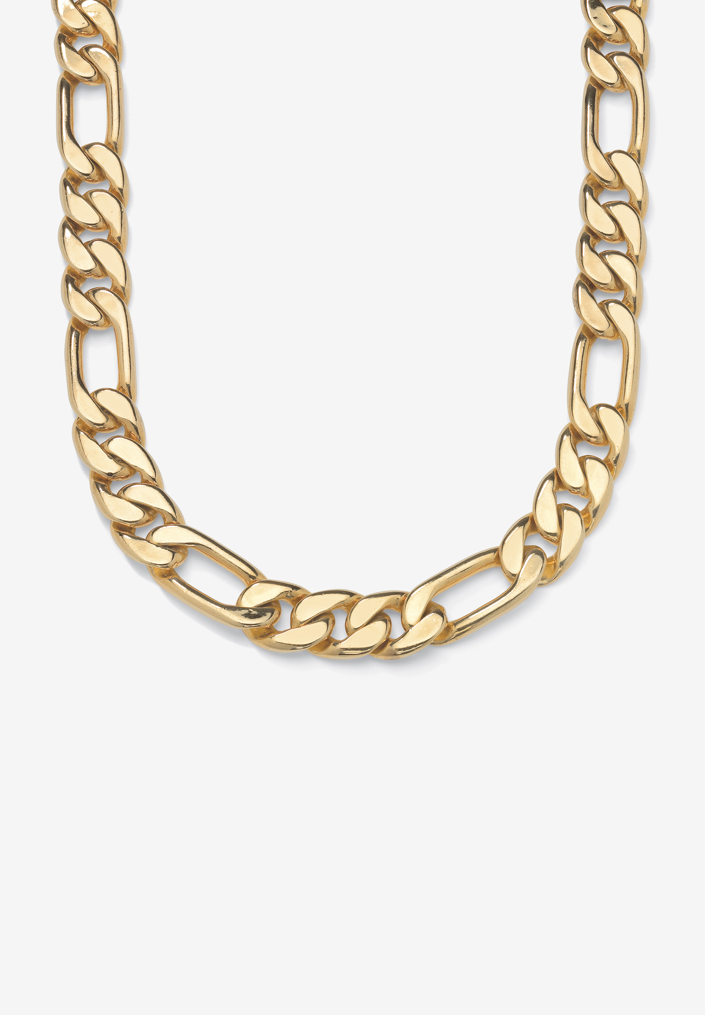 "Figaro-Link Necklace 30"" , YELLOW GOLD"