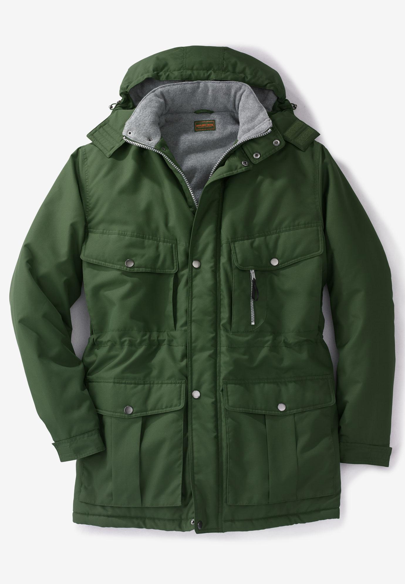ae934e9e09118 Boulder Creek® Expedition Parka Coat| Big and Tall New Arrivals ...