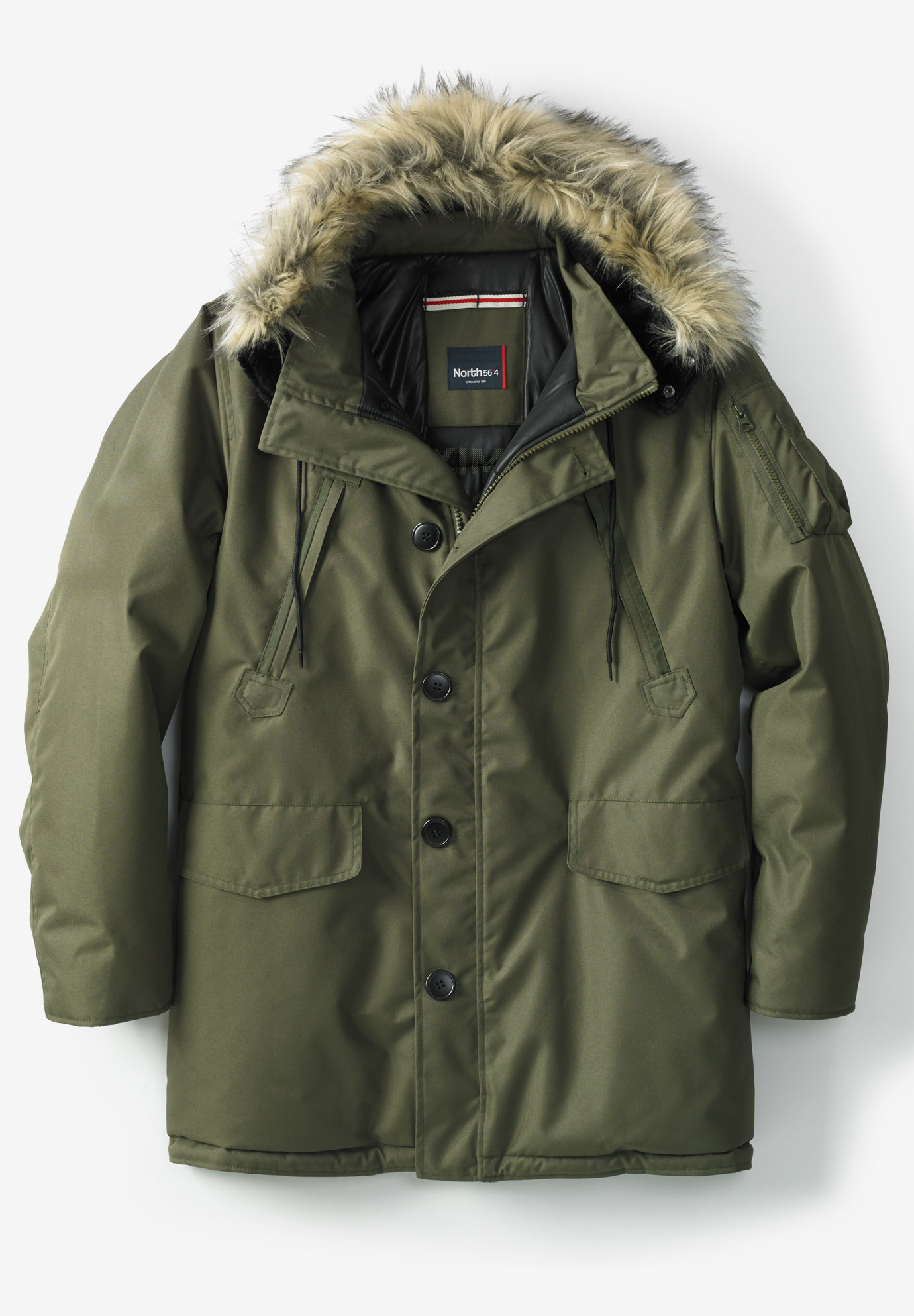 North 56°4 Padded Parka Jacket,