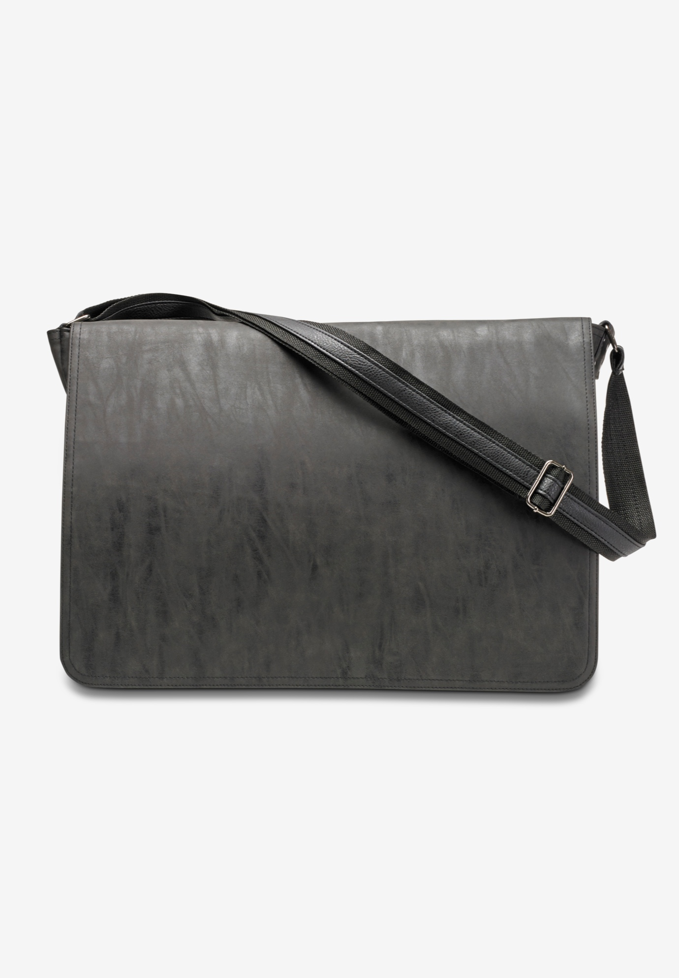 Leather Messenger Bag,