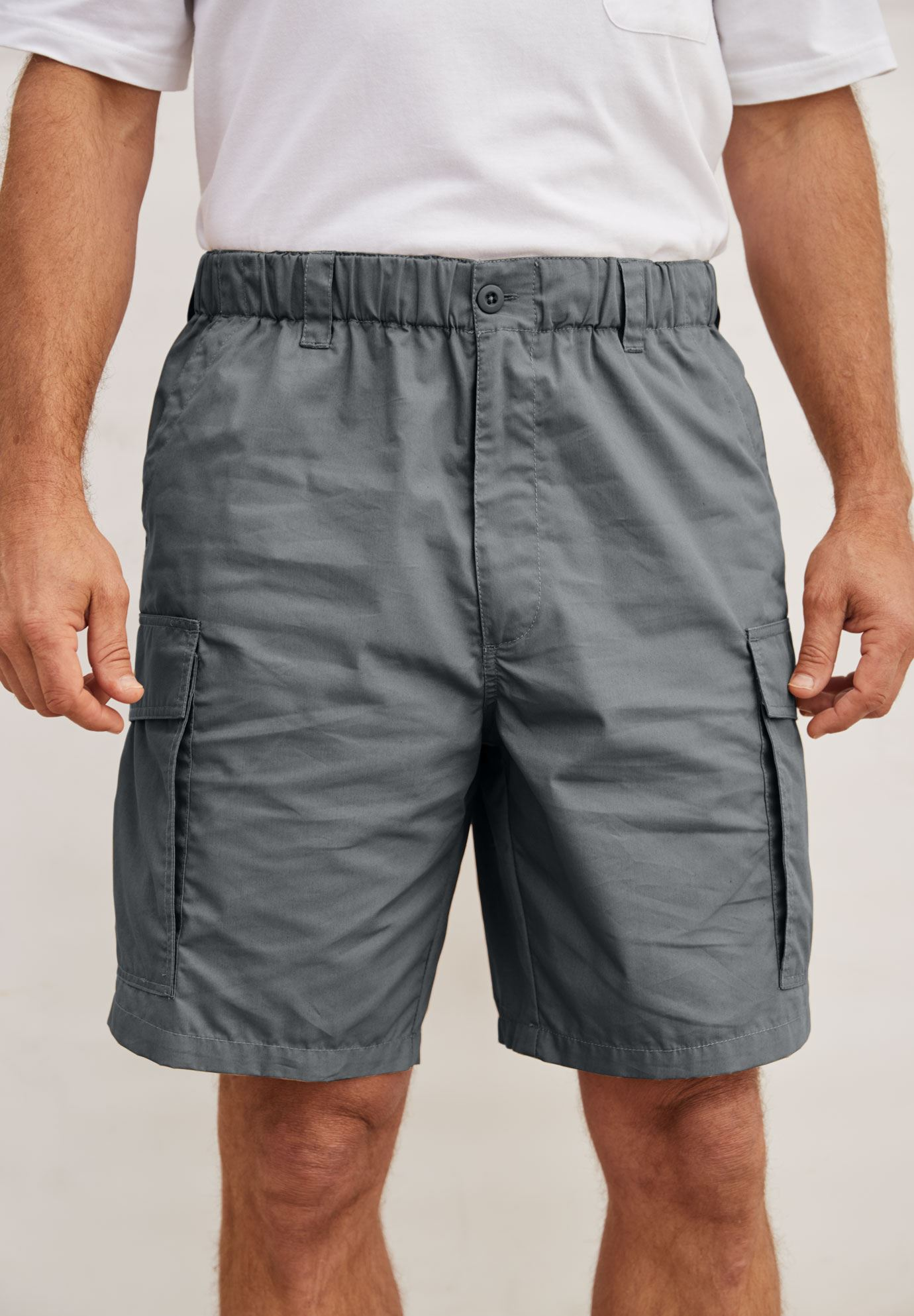 ff3c0df2dc Moisture Wicking Cargo Shorts | Plus Size Pants & Shorts | Full Beauty