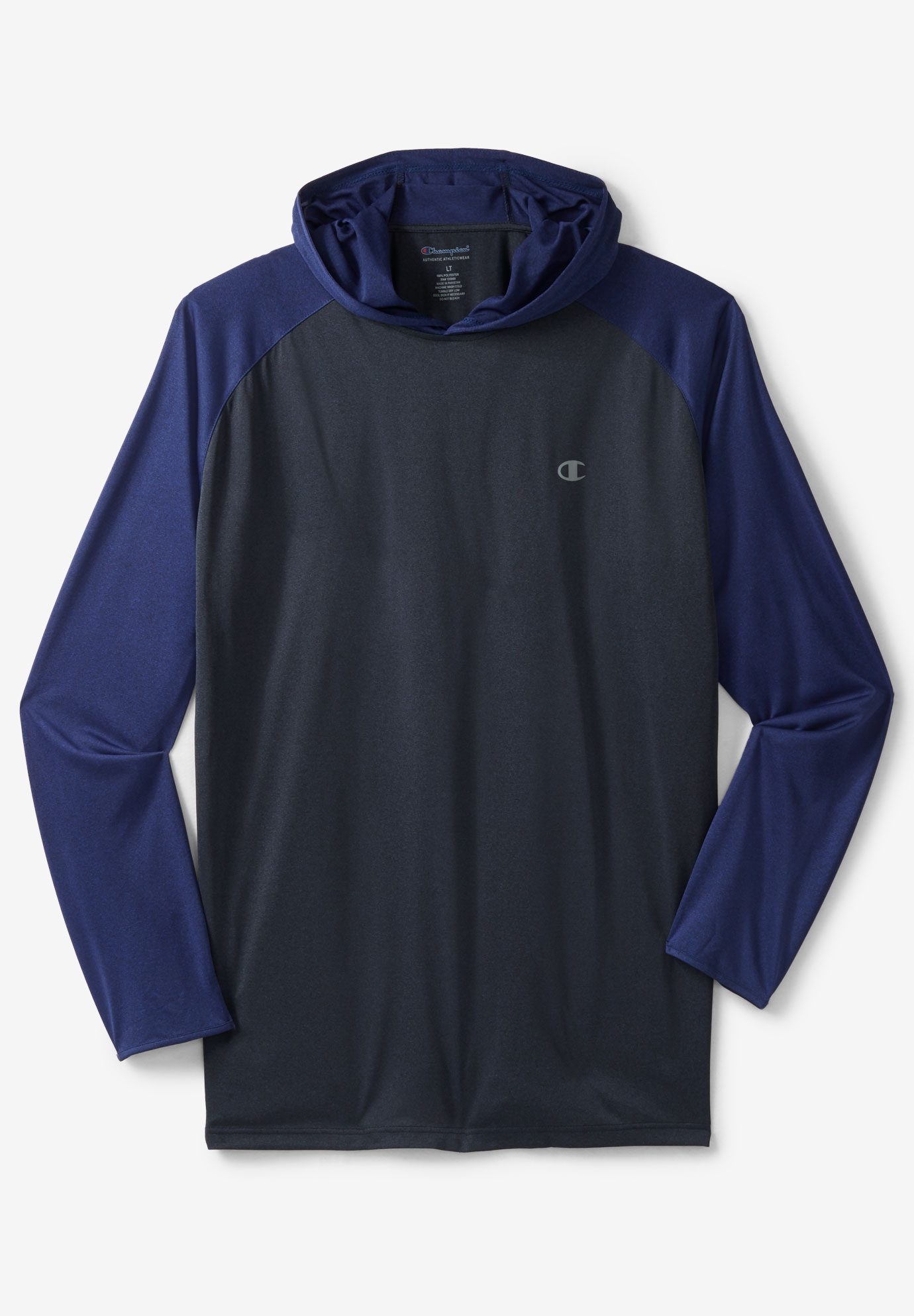 Lightweight Colorblock Performance Hoodie by Champion®,